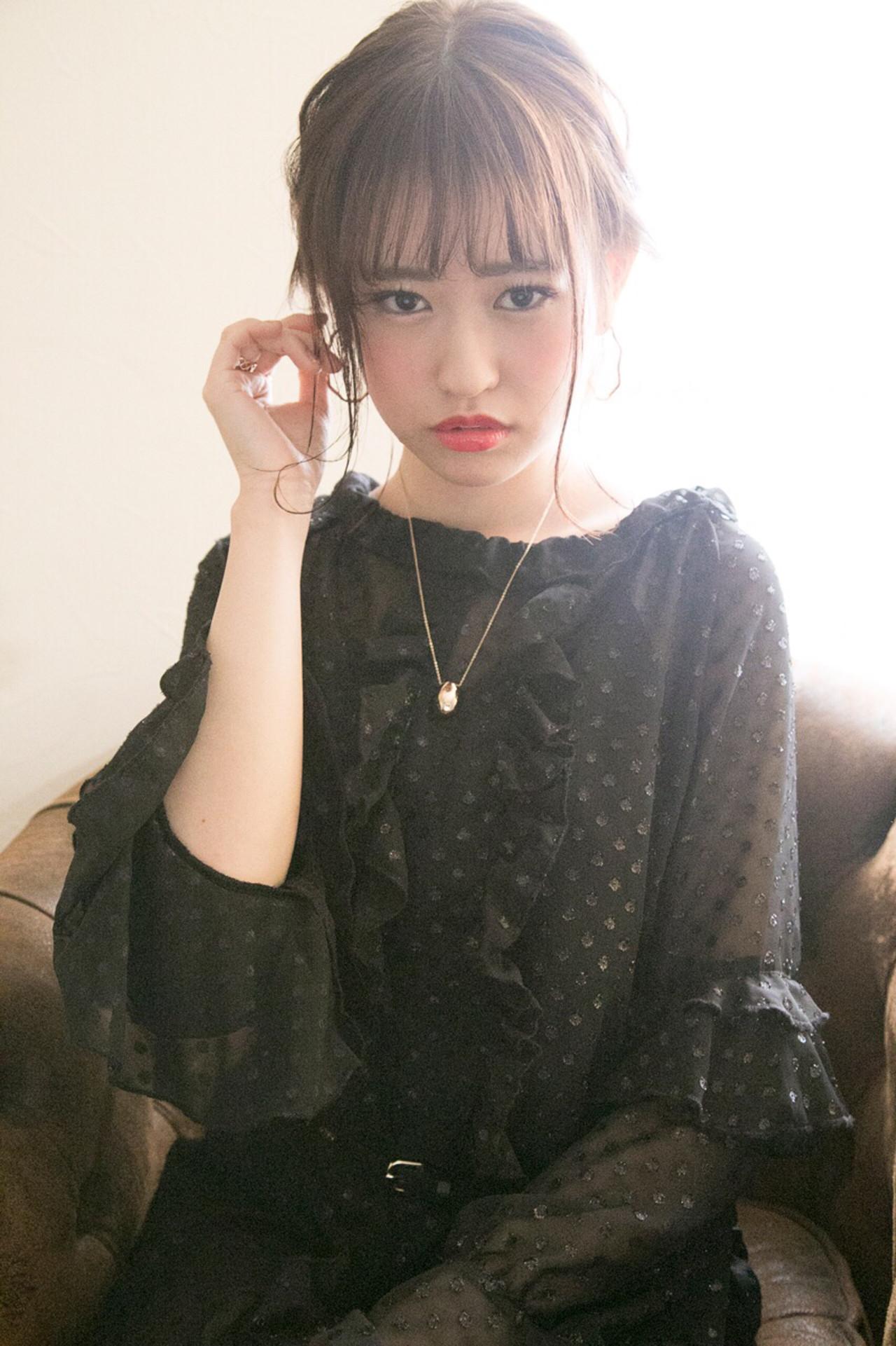結婚式 ヘアアレンジ フェミニン 謝恩会 ヘアスタイルや髪型の写真・画像 | 廣長 毅 / Lull/ vampdiva