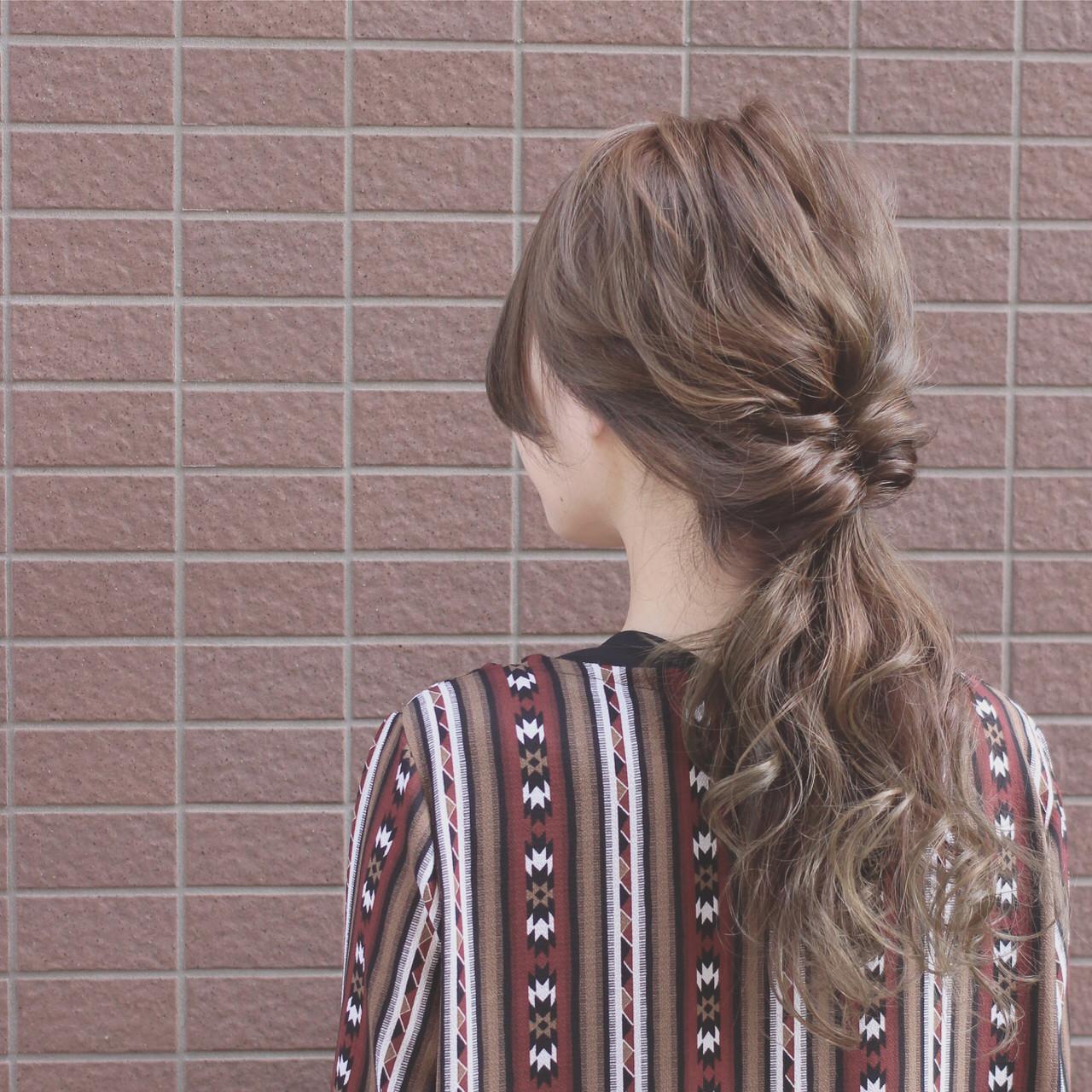 ヘアアレンジ グラデーションカラー ロング ショート ヘアスタイルや髪型の写真・画像 | SHOTA / cherir