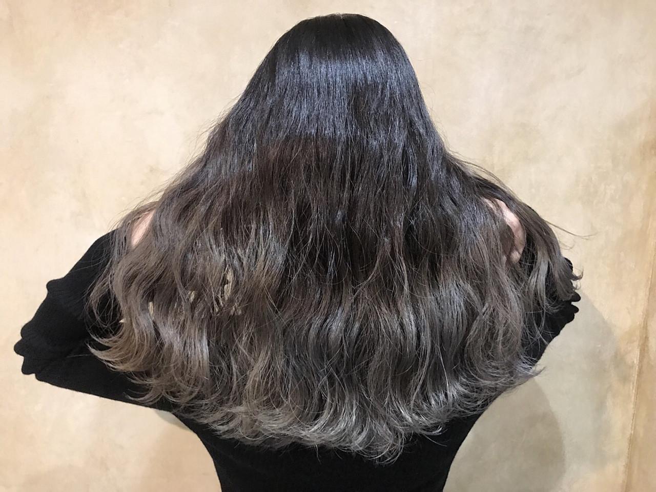 セミロング ヘアアレンジ アンニュイほつれヘア 外国人風カラー ヘアスタイルや髪型の写真・画像