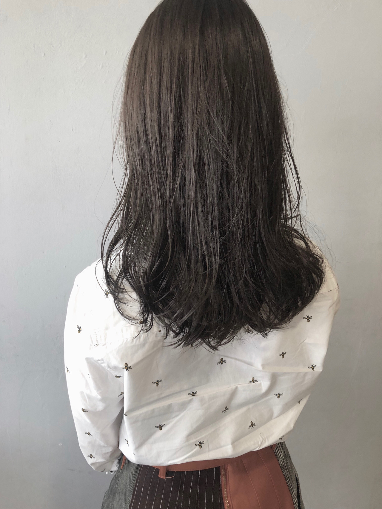 ナチュラル ブルーアッシュ ブルージュ 就活 ヘアスタイルや髪型の写真・画像 | koki / LAND