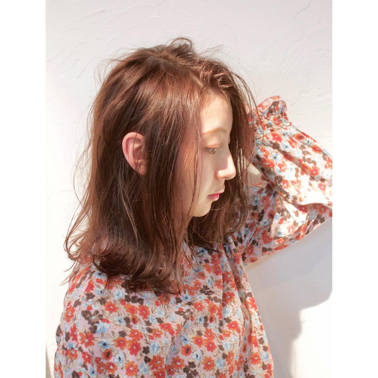 ヘアアレンジ フェミニン デート パーマ ヘアスタイルや髪型の写真・画像