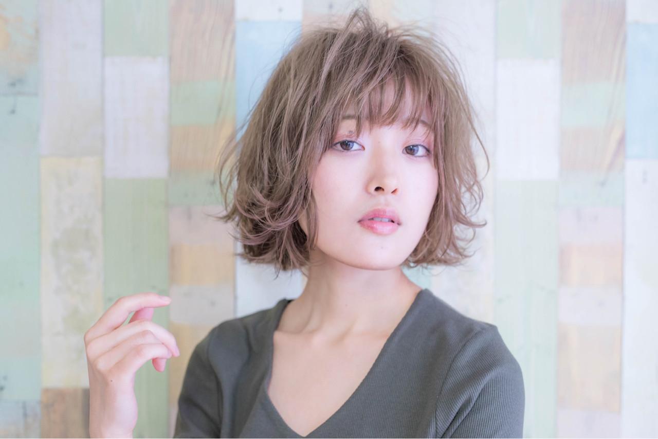 デート ゆるふわ こなれ感 ナチュラル ヘアスタイルや髪型の写真・画像 | Fringe 染谷正 / Fringe Hair Salon