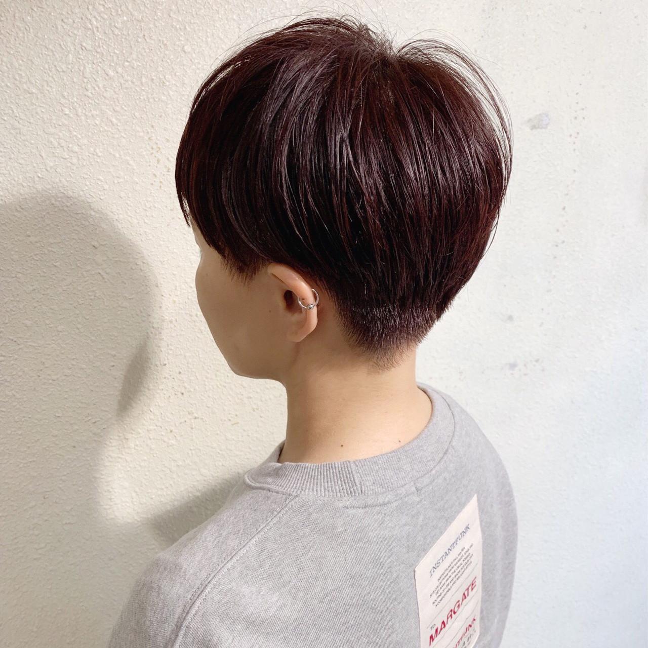 ストリート ショートヘア ショート ショートボブ ヘアスタイルや髪型の写真・画像