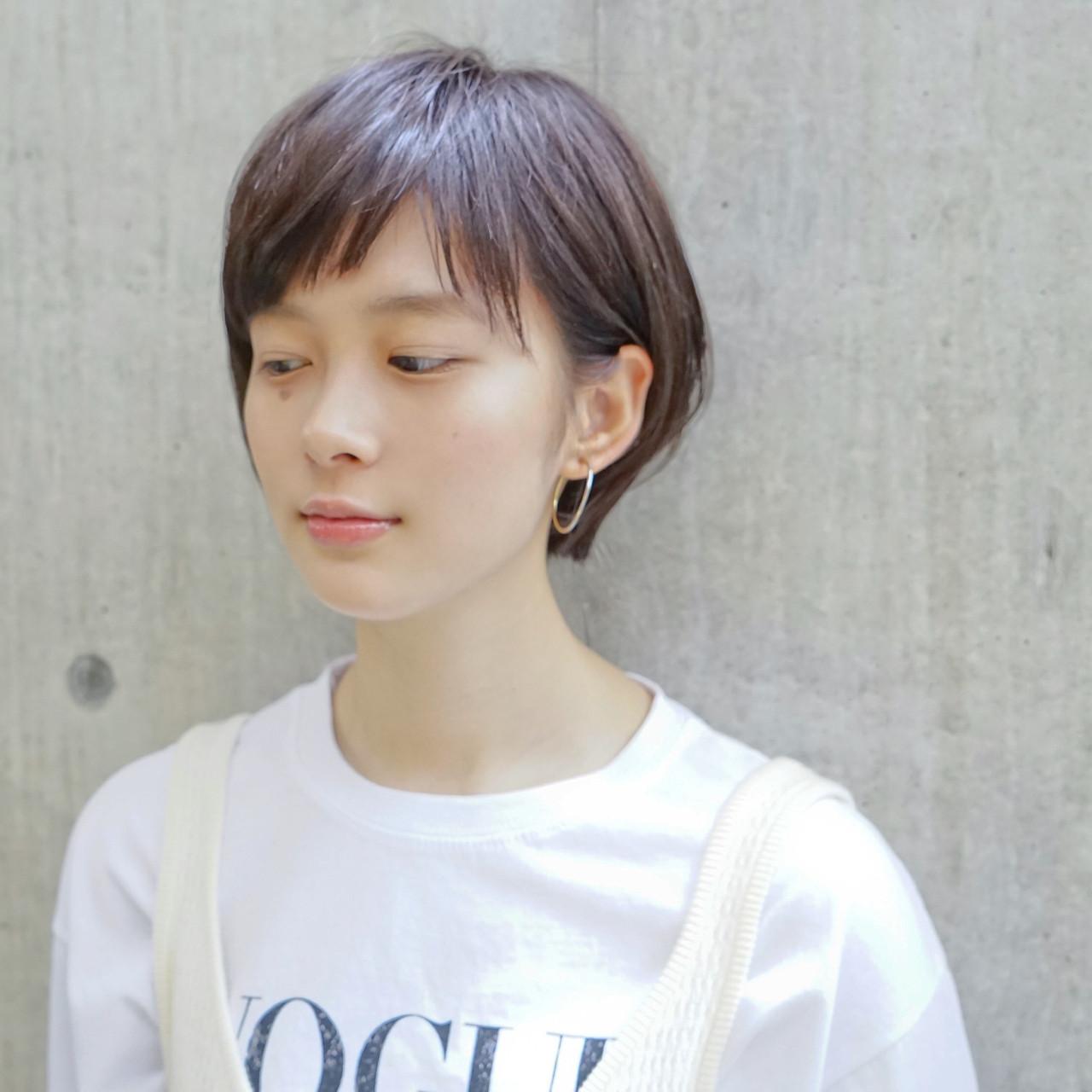 ショート リラックス デート ナチュラル ヘアスタイルや髪型の写真・画像 | タカハシ アヤミ / trail by ROVER