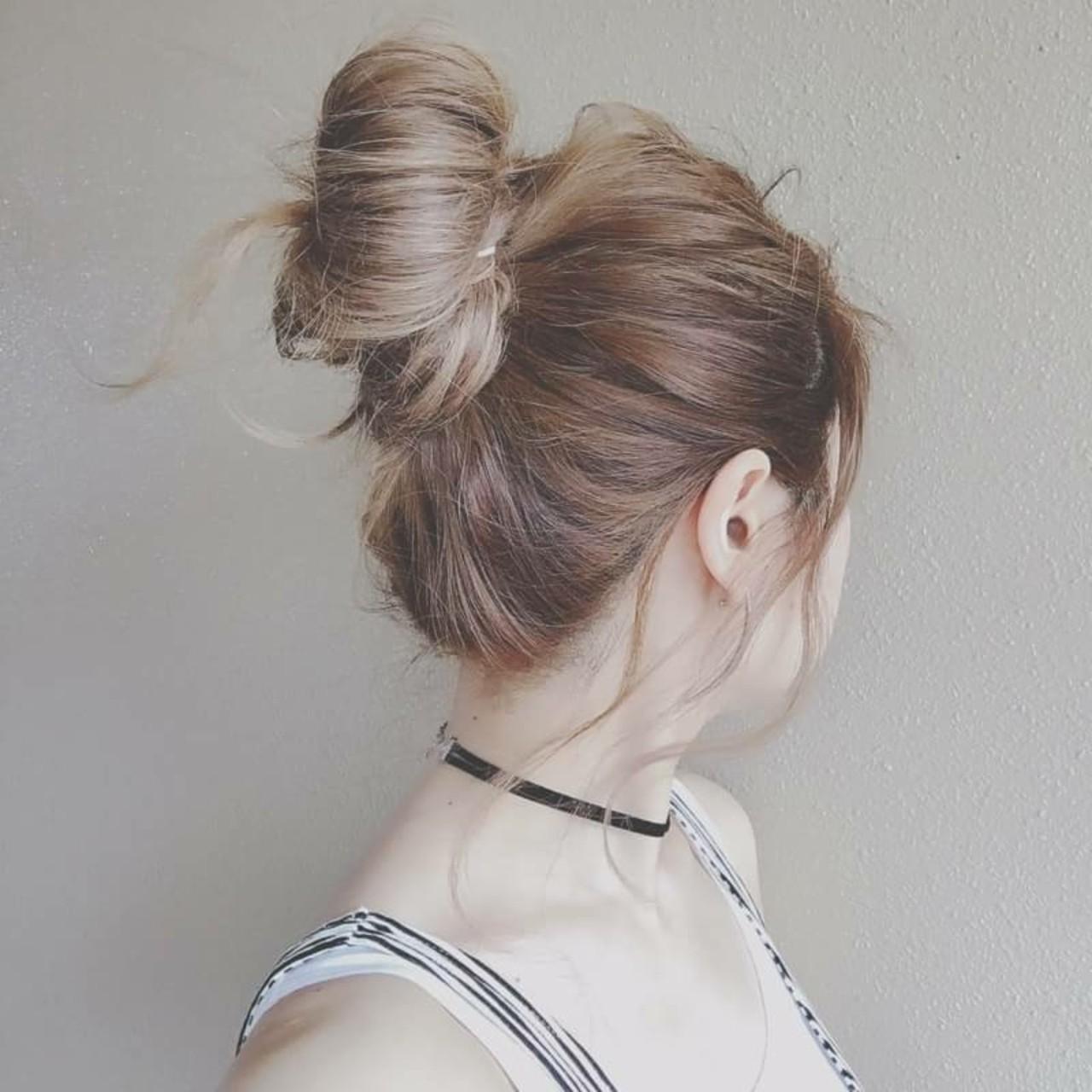 ゆるふわ 大人かわいい ヘアアレンジ ロング ヘアスタイルや髪型の写真・画像