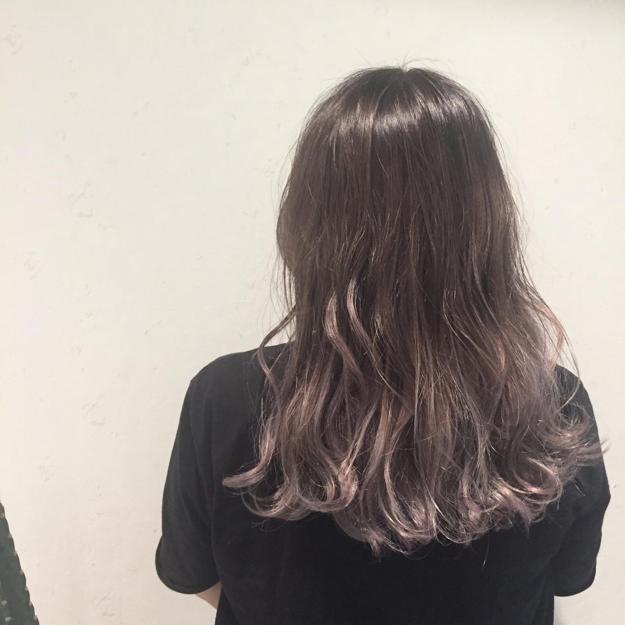 冬 ハロウィン ロング デート ヘアスタイルや髪型の写真・画像 | Misaki Arima / Hammock hair salon cocona
