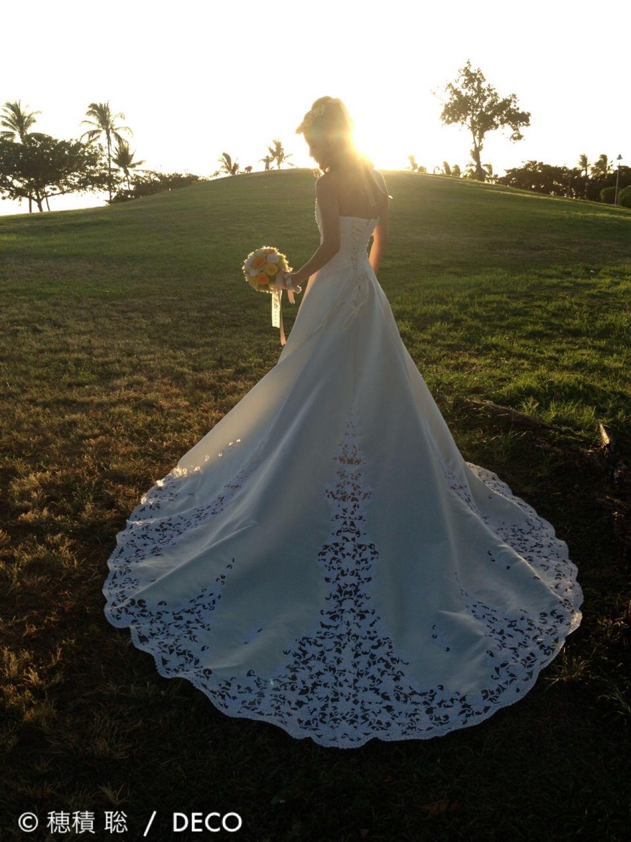 ヘアアレンジ ブライダル ナチュラル 結婚式 ヘアスタイルや髪型の写真・画像