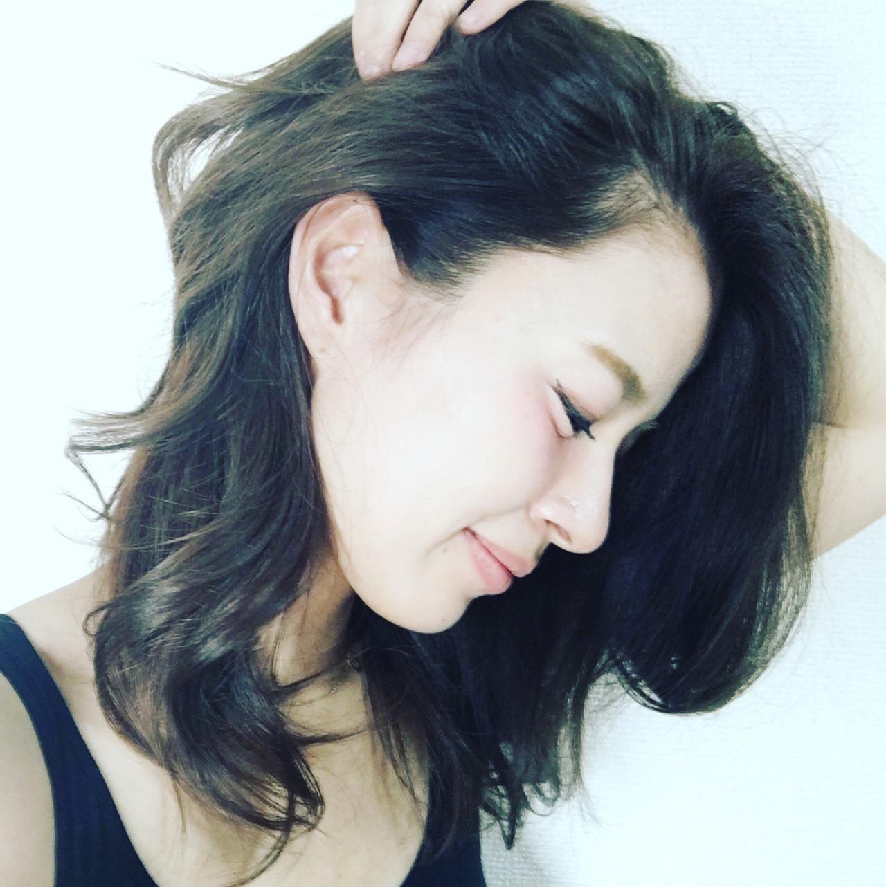 名駅@ENLIED stylist:taichi irahara model:yuri  . . . 退色しやすく、赤くなりやすい髪質の私はこういうカラーが持ちがいい✔️