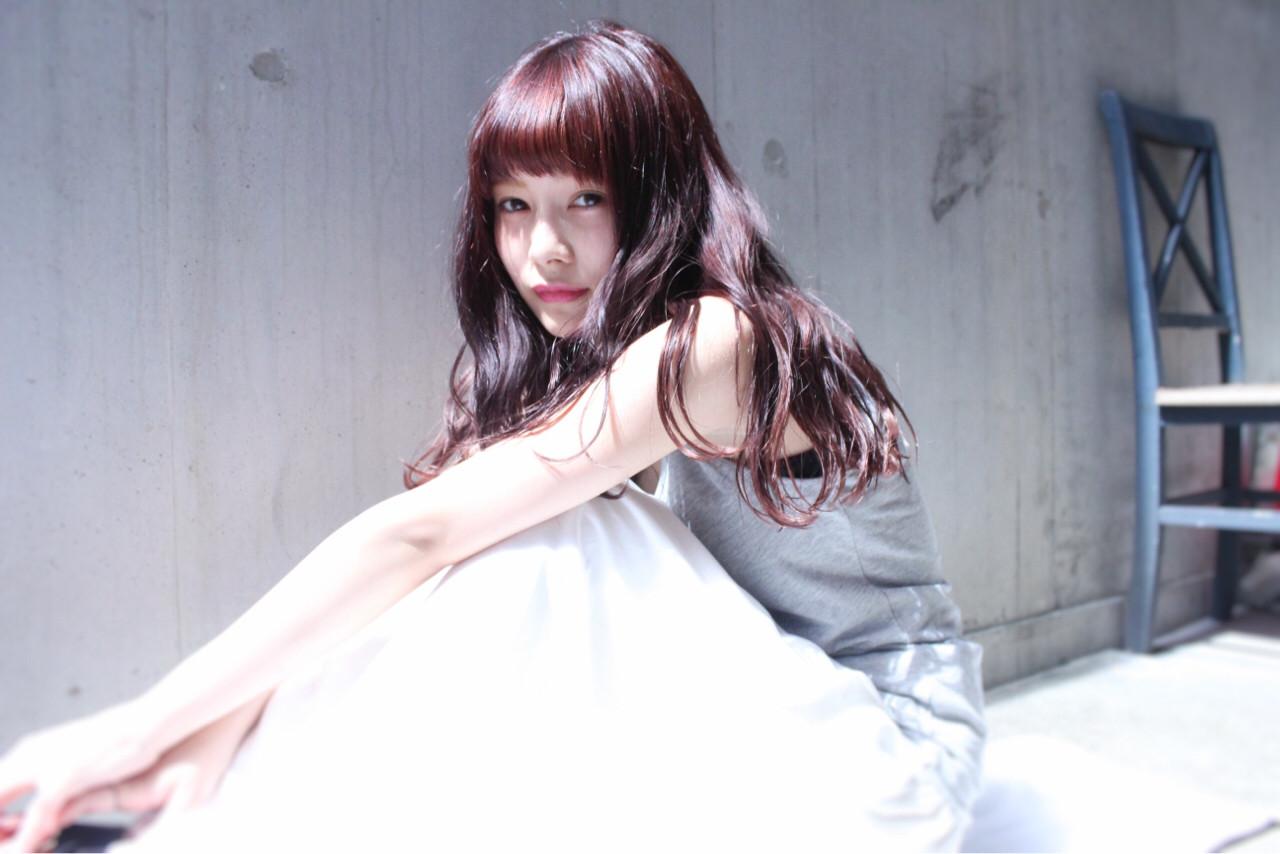 ロング フェミニン ピュア 大人かわいい ヘアスタイルや髪型の写真・画像