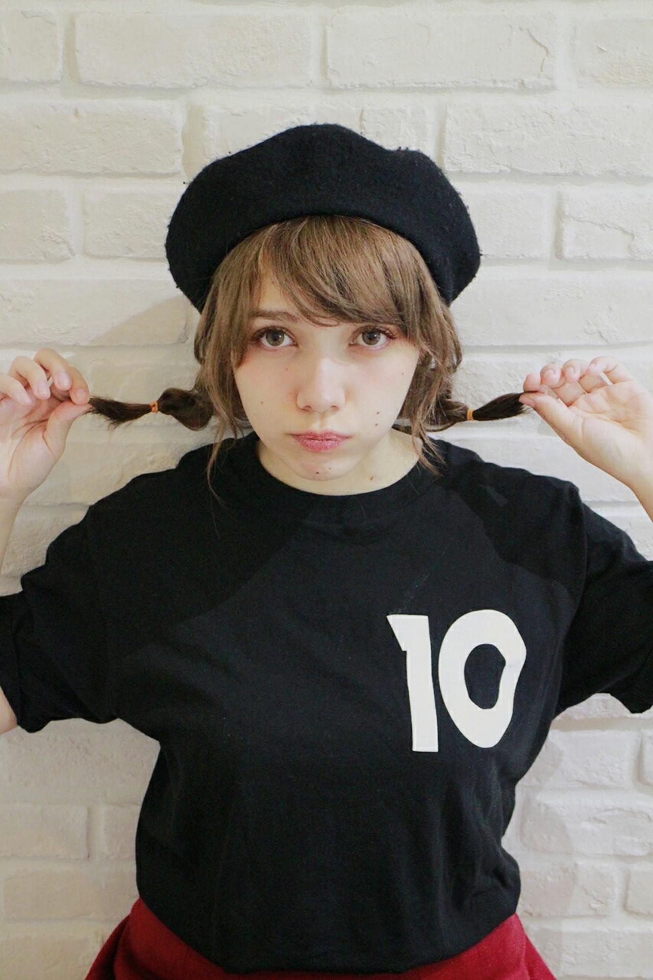 ショート 大人女子 ゆるふわ ベレー帽 ヘアスタイルや髪型の写真・画像