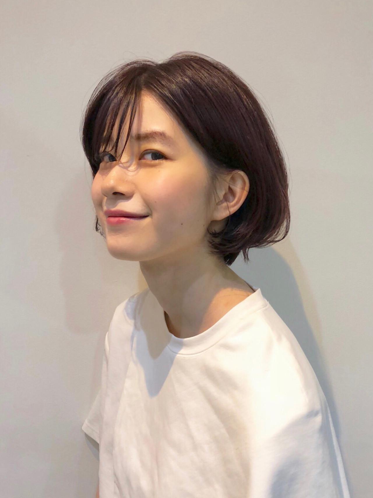 前髪あり 大人かわいい スポーツ 抜け感 ヘアスタイルや髪型の写真・画像 | 大西 絢子/HOULe / HOULe