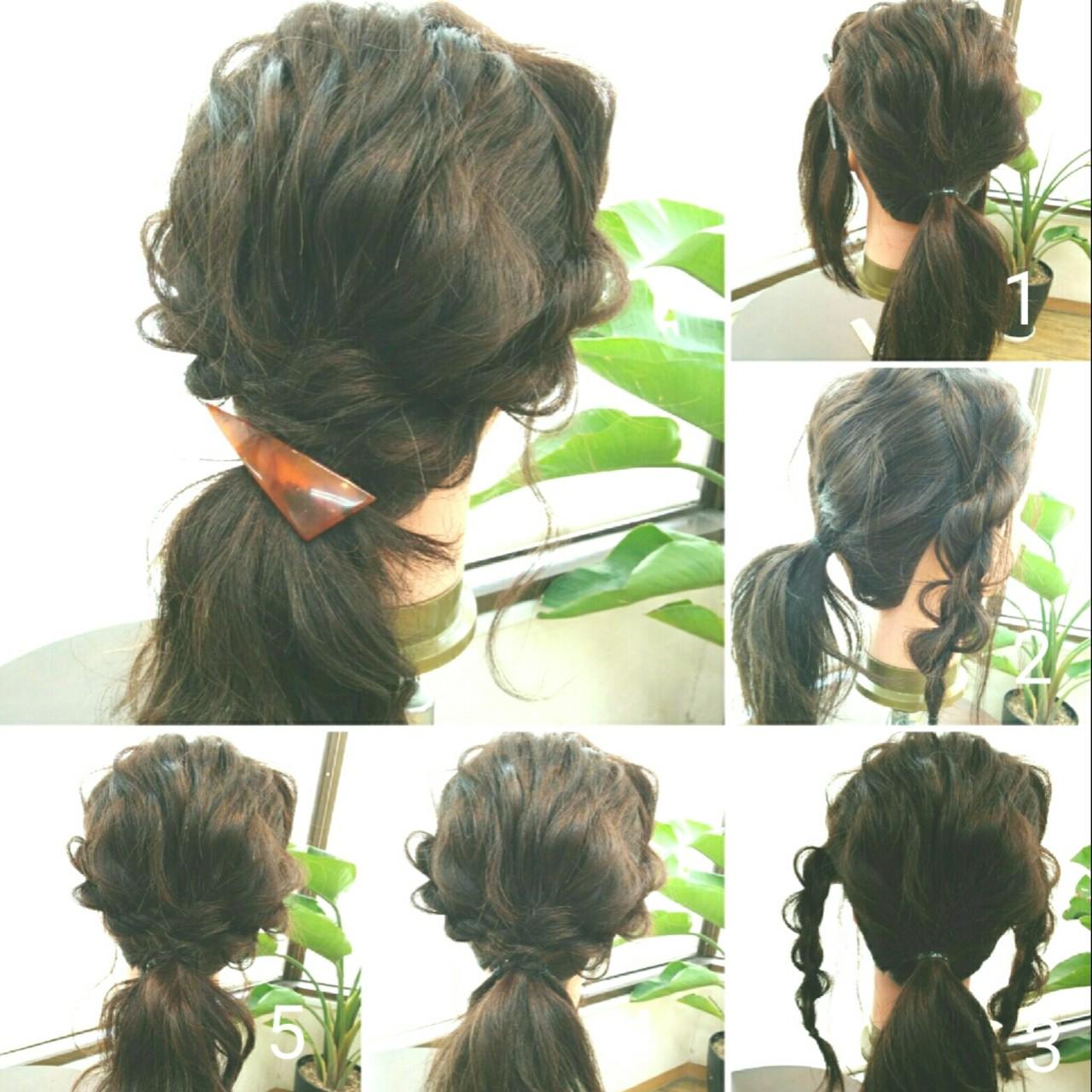 大人かわいい ゆるふわ 夏 ミディアム ヘアスタイルや髪型の写真・画像