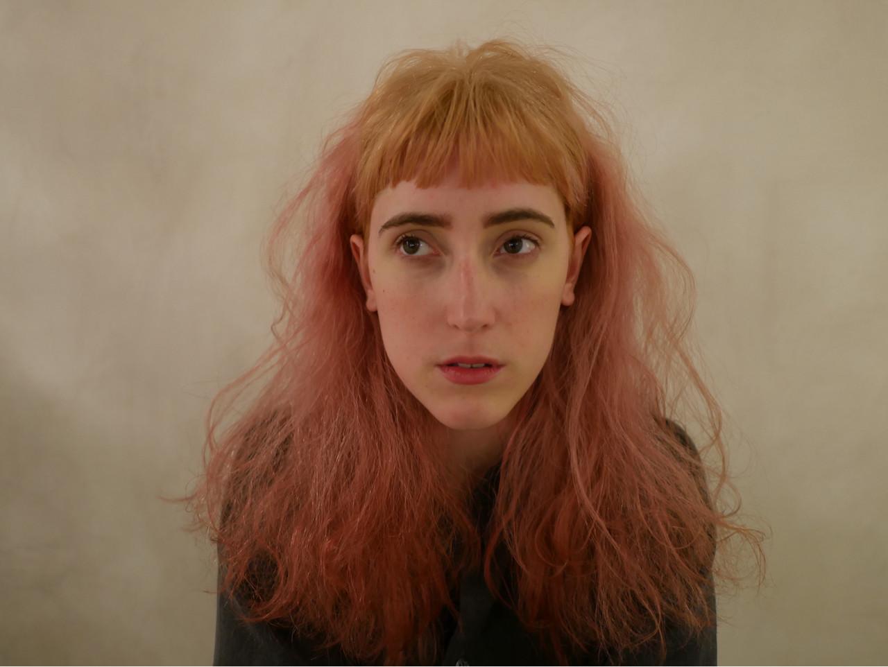 外国人風 抜け感 ピンク フェミニン ヘアスタイルや髪型の写真・画像
