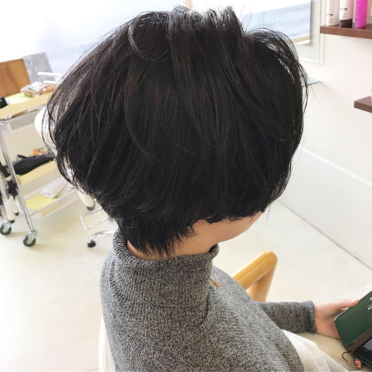 ショートボブ ハンサムショート デート ボブ ヘアスタイルや髪型の写真・画像
