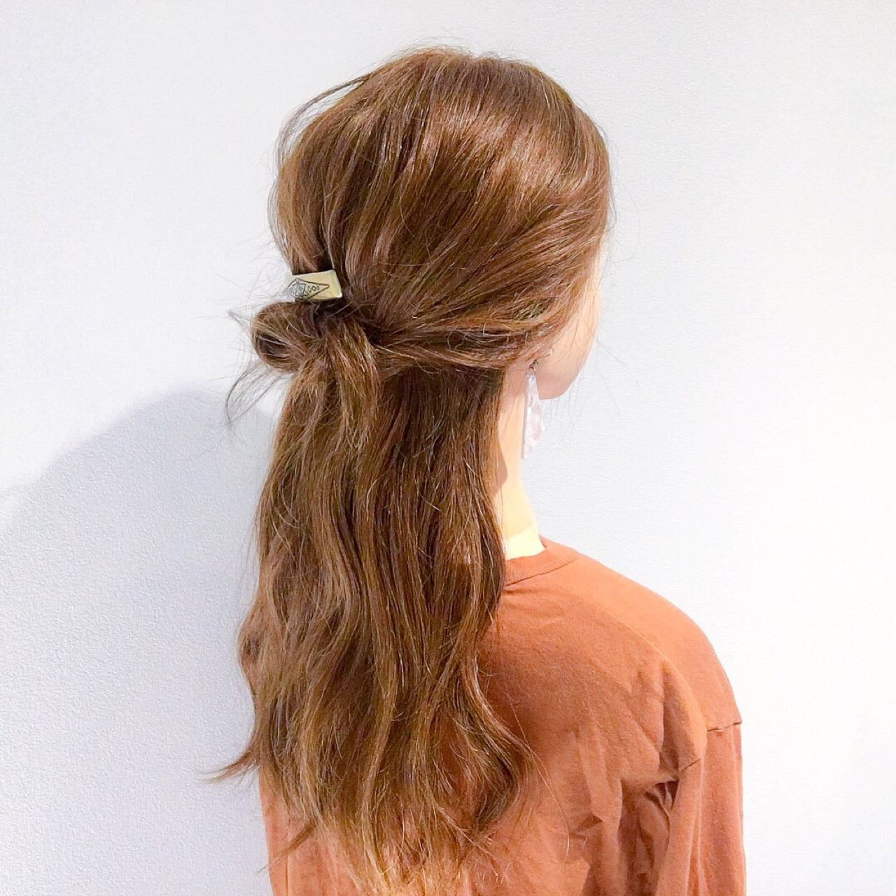 アウトドア 簡単ヘアアレンジ ヘアアレンジ ナチュラル ヘアスタイルや髪型の写真・画像 | 美容師HIRO/Amoute代表 / Amoute/アムティ