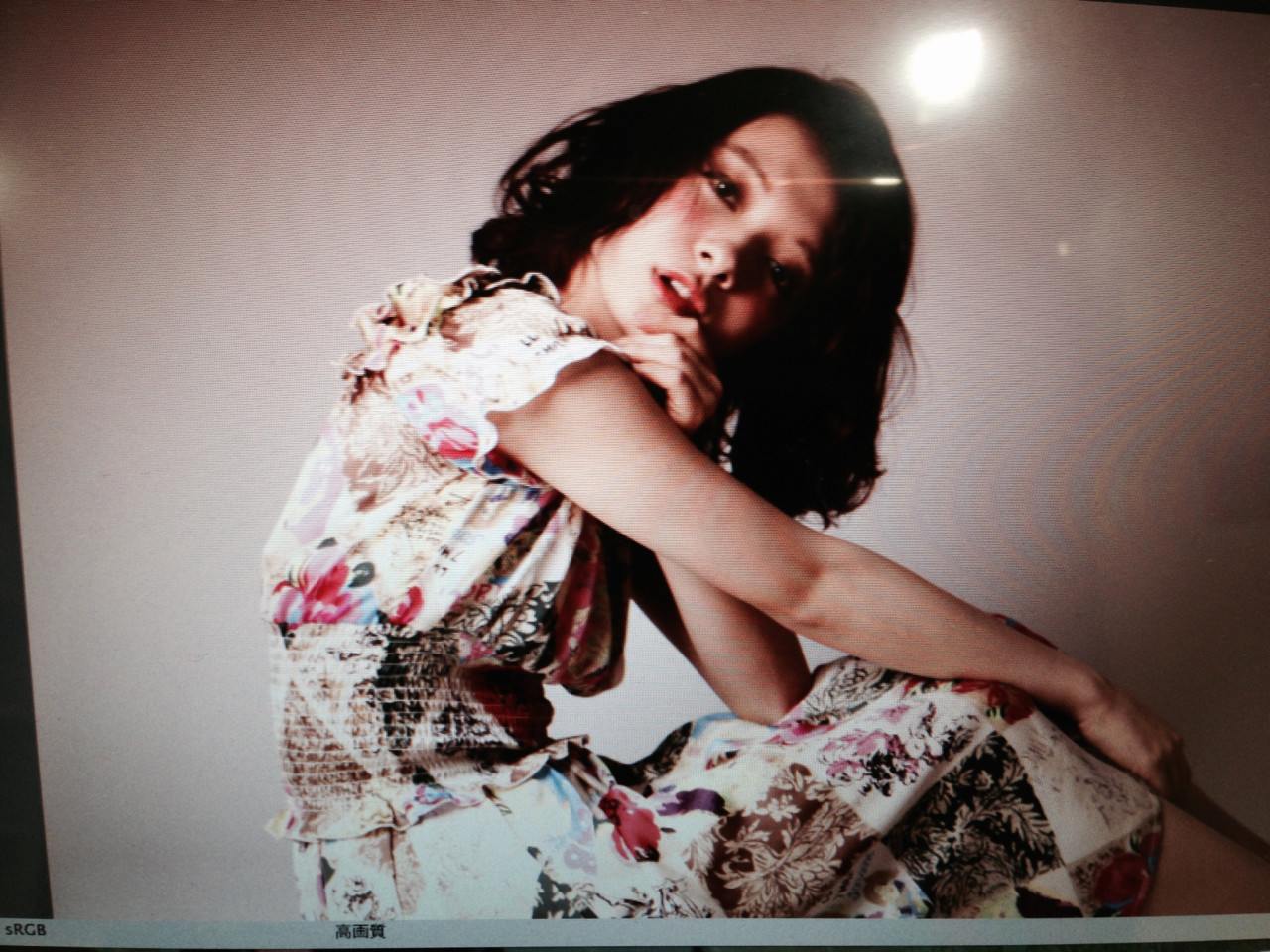 外国人風カラー パーマ ボブ フェミニン ヘアスタイルや髪型の写真・画像