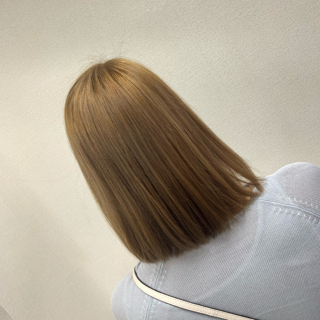 圧倒的透明感 フェミニン ミルクティーベージュ ブリーチ ヘアスタイルや髪型の写真・画像