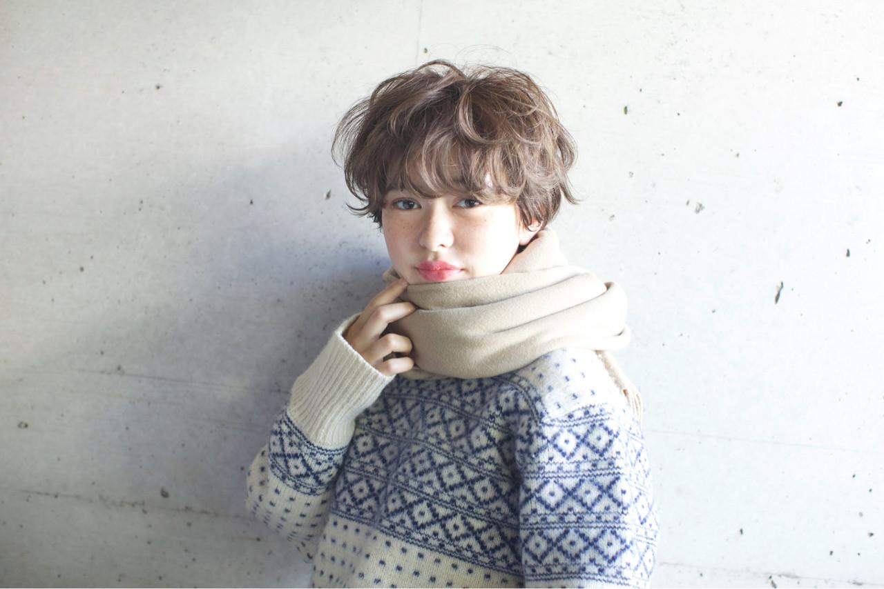 ナチュラル ショート 外国人風カラー 似合わせ ヘアスタイルや髪型の写真・画像 | 佐脇 正徳 / LOAVE AOYAMA(ローヴ アオヤマ)