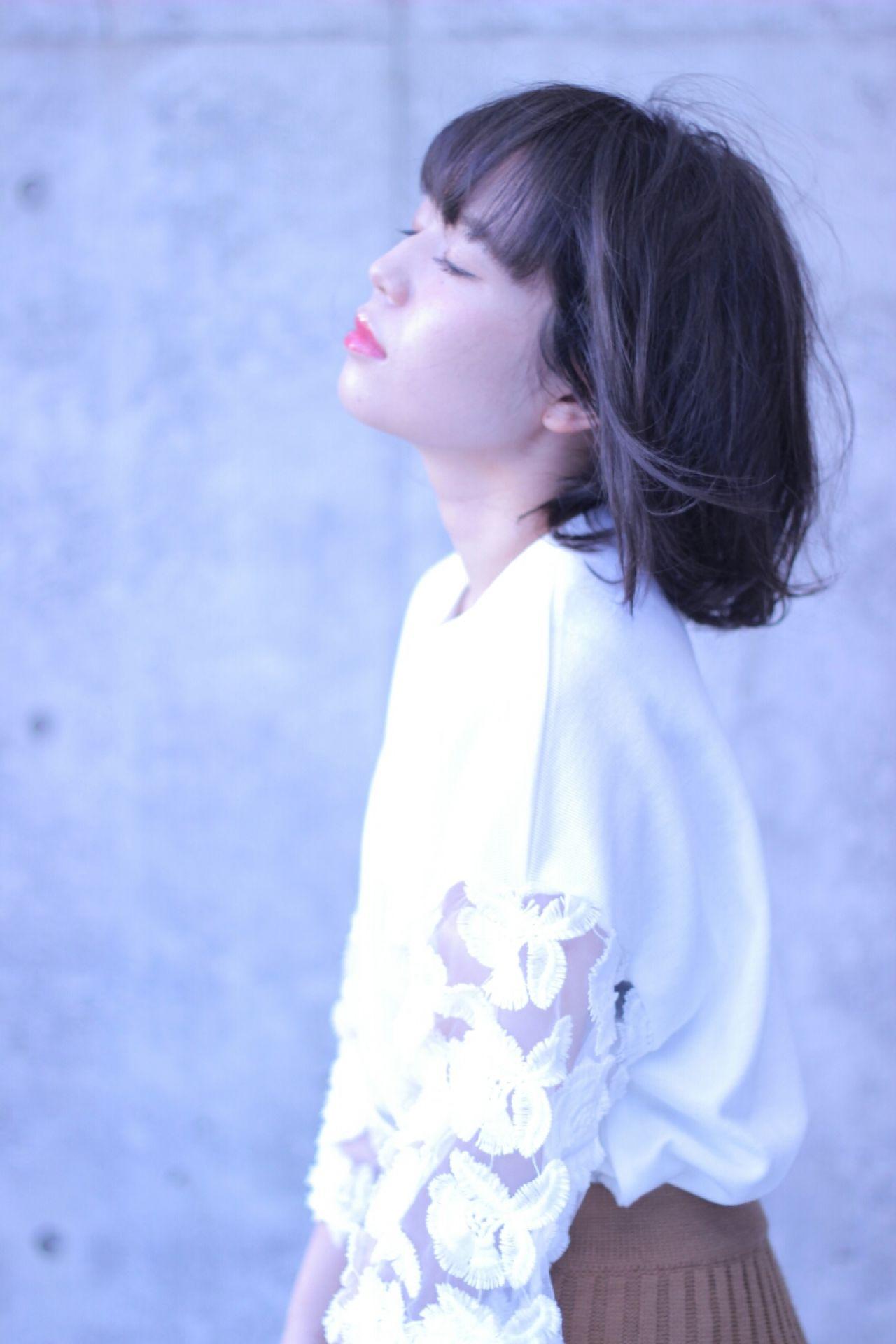 ゆるふわ フェミニン 爽やか ナチュラル ヘアスタイルや髪型の写真・画像   Wataru Maeda / cache cache