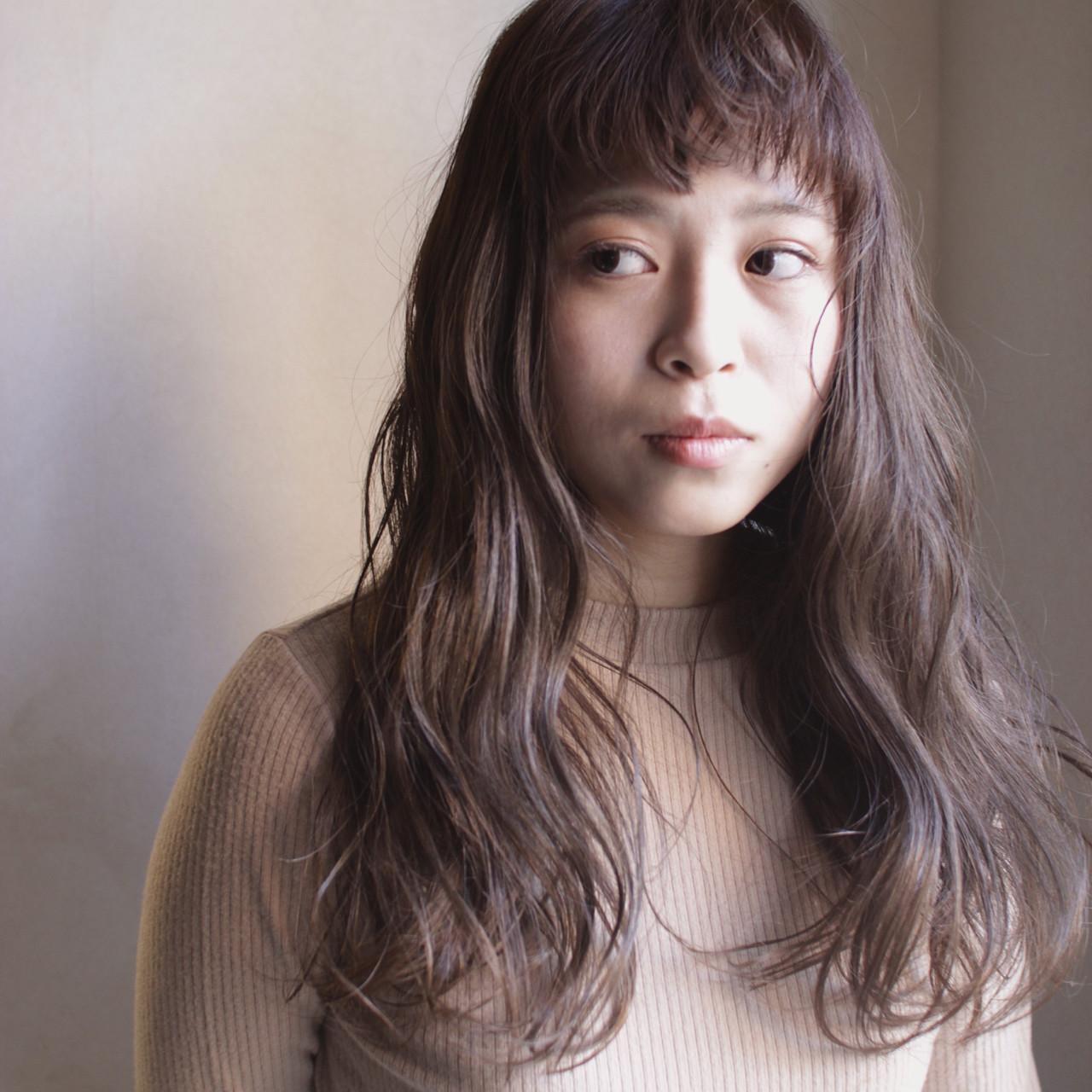 ナチュラル くせ毛風 ゆるふわ パーマ ヘアスタイルや髪型の写真・画像
