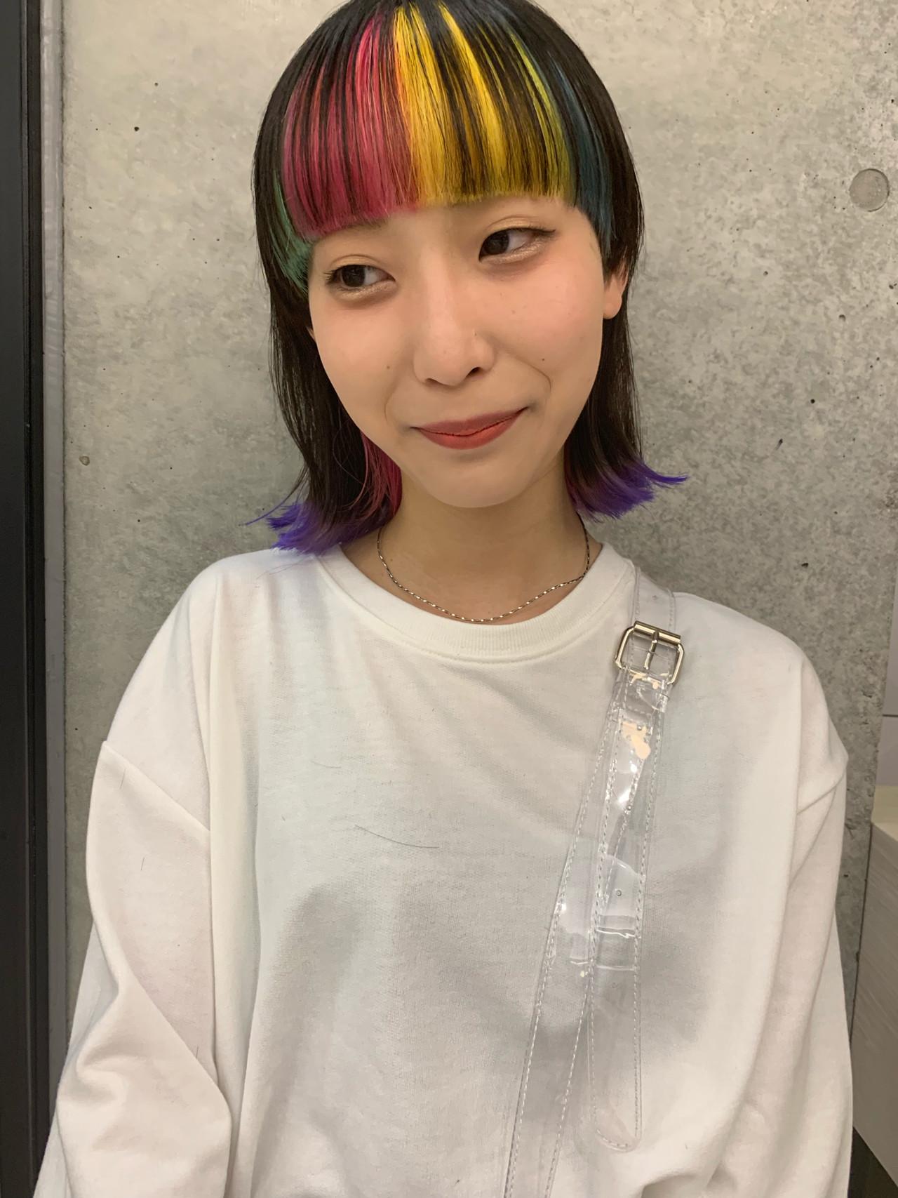 パーマ スポーツ デート 簡単ヘアアレンジ ヘアスタイルや髪型の写真・画像 | 美鈴 / free-lance