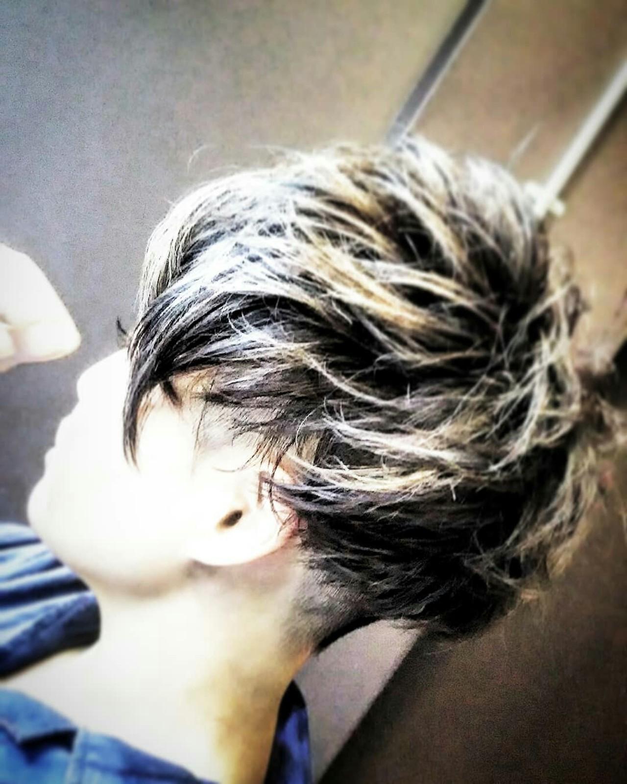 大人かわいい グレージュ モード ショート ヘアスタイルや髪型の写真・画像 | カマイリョウスケ / 極東undergroundparade