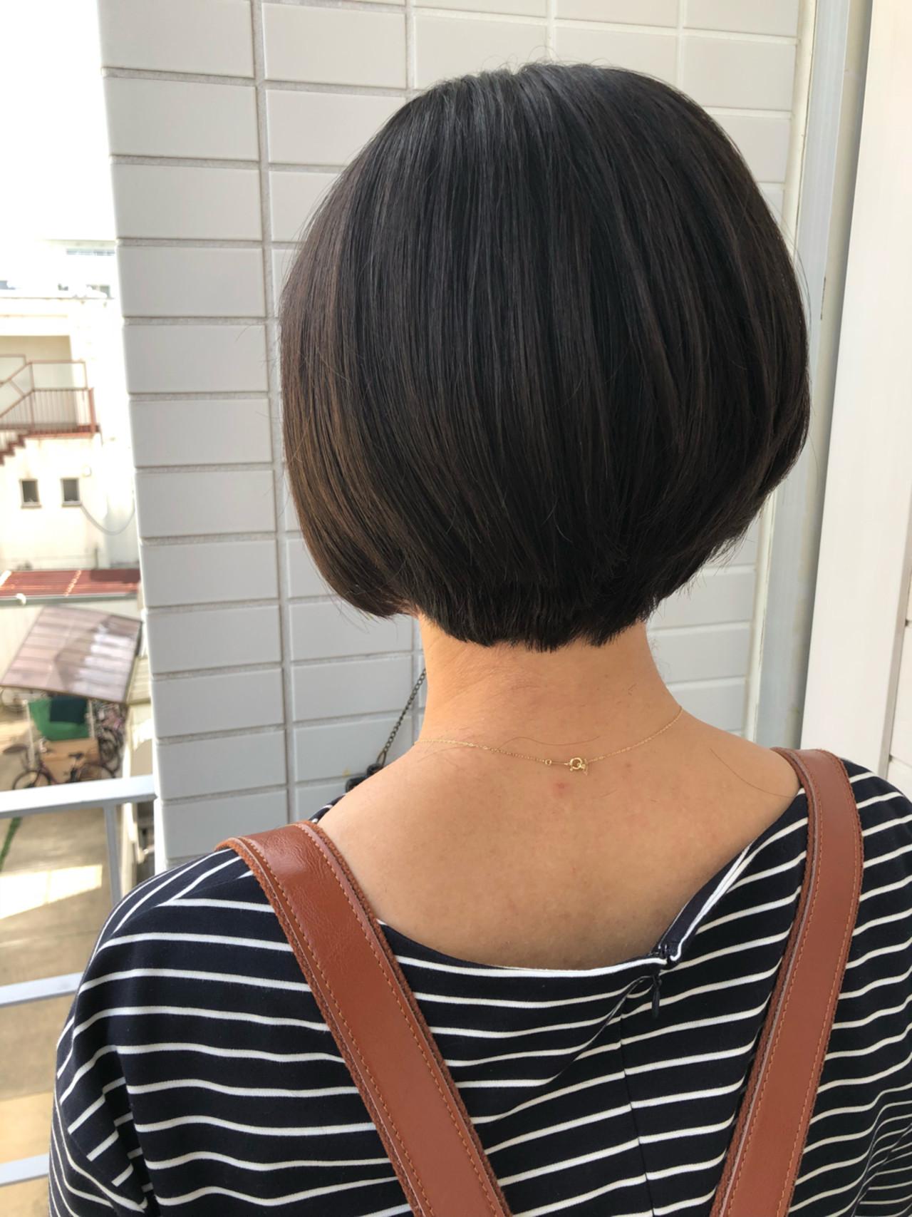 ナチュラル 小顔 女子力 似合わせ ヘアスタイルや髪型の写真・画像 | 賀満洋行/OCEAN Hair&Life / OCEAN Hair&Life