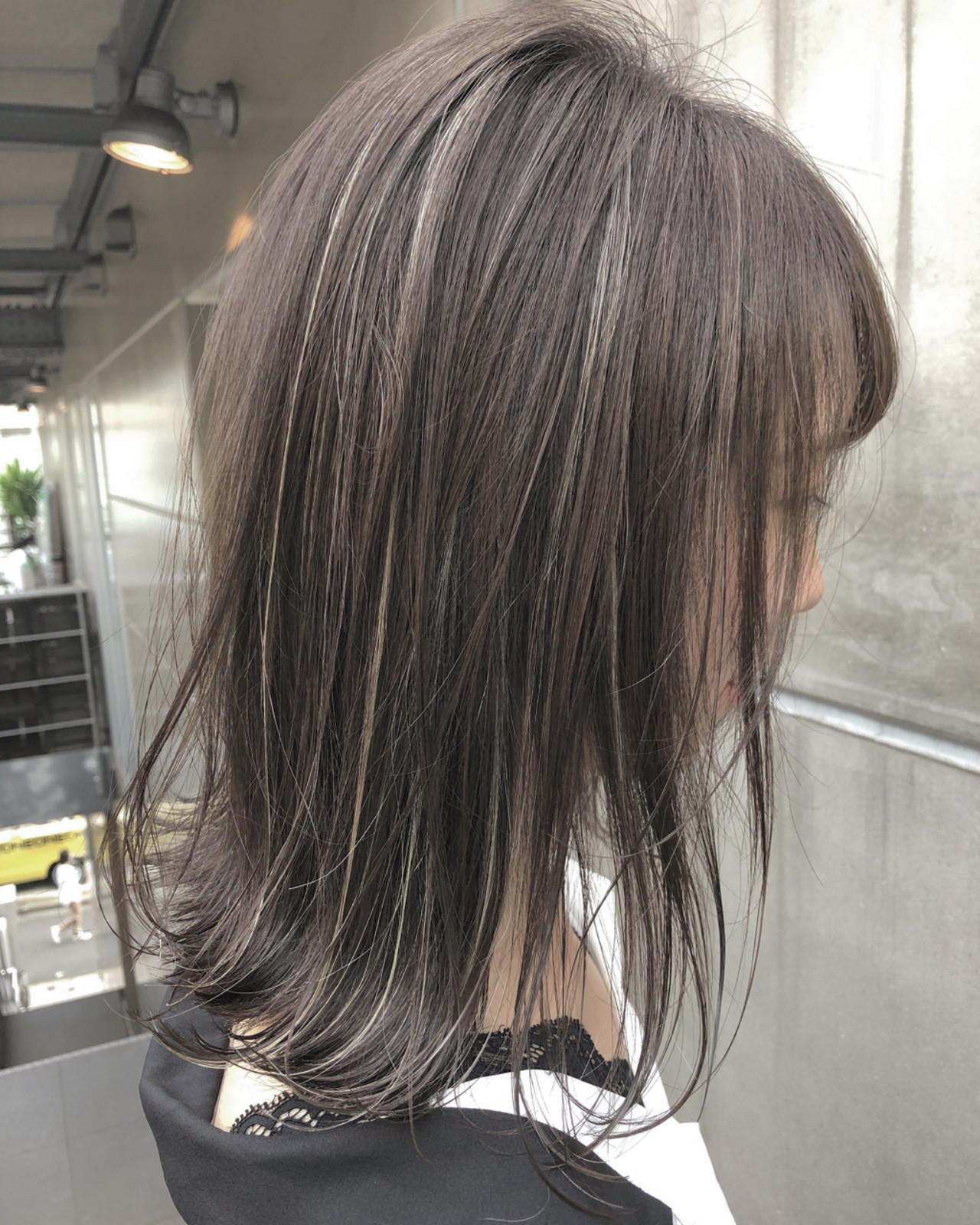 ボブ アウトドア 女子力 透明感 ヘアスタイルや髪型の写真・画像