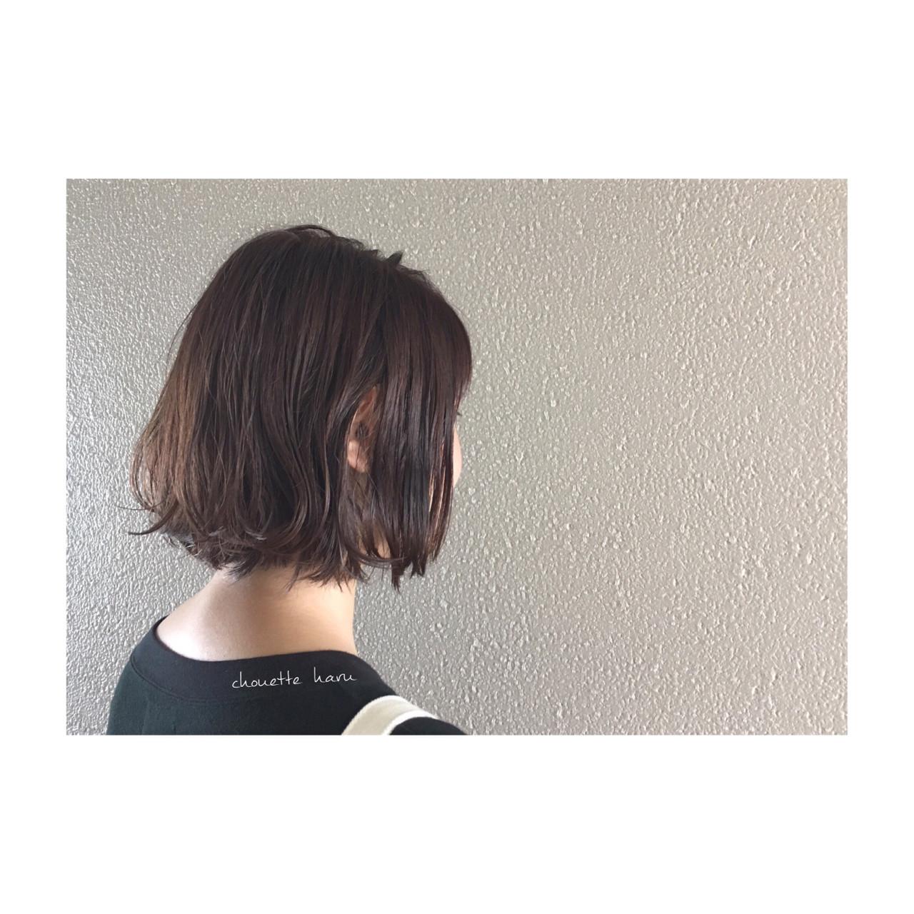 ウェットヘア ラベンダーアッシュ ナチュラル ラフ ヘアスタイルや髪型の写真・画像