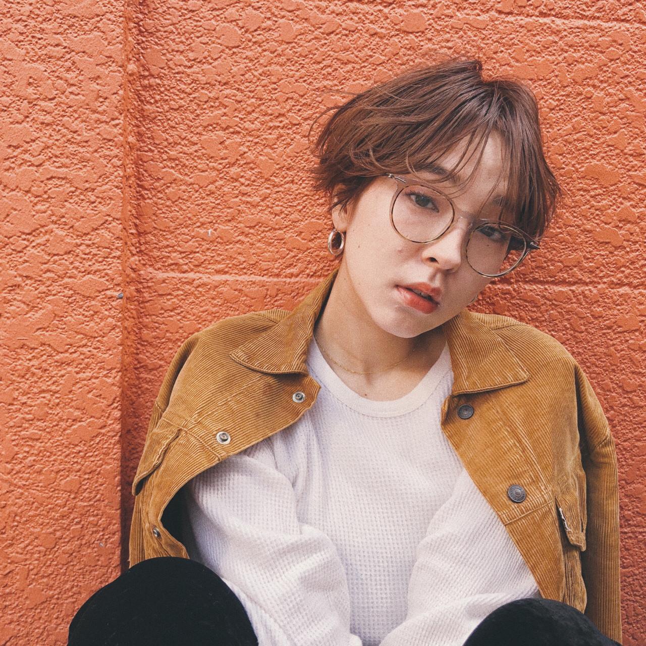 スポーツ ヘアアレンジ 簡単ヘアアレンジ ショート ヘアスタイルや髪型の写真・画像 | 浜本 忠勝 / whyte