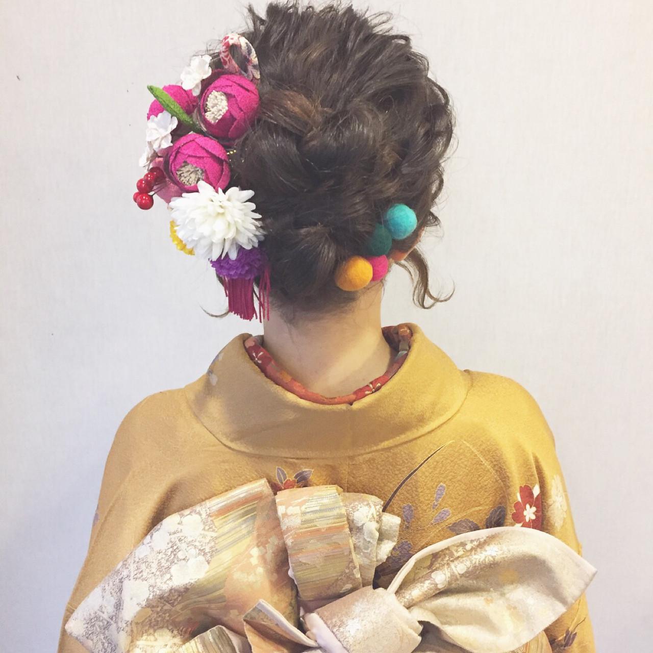 謝恩会 結婚式 成人式 ヘアアレンジ ヘアスタイルや髪型の写真・画像 | 大西未紗 / HAIR LEAP