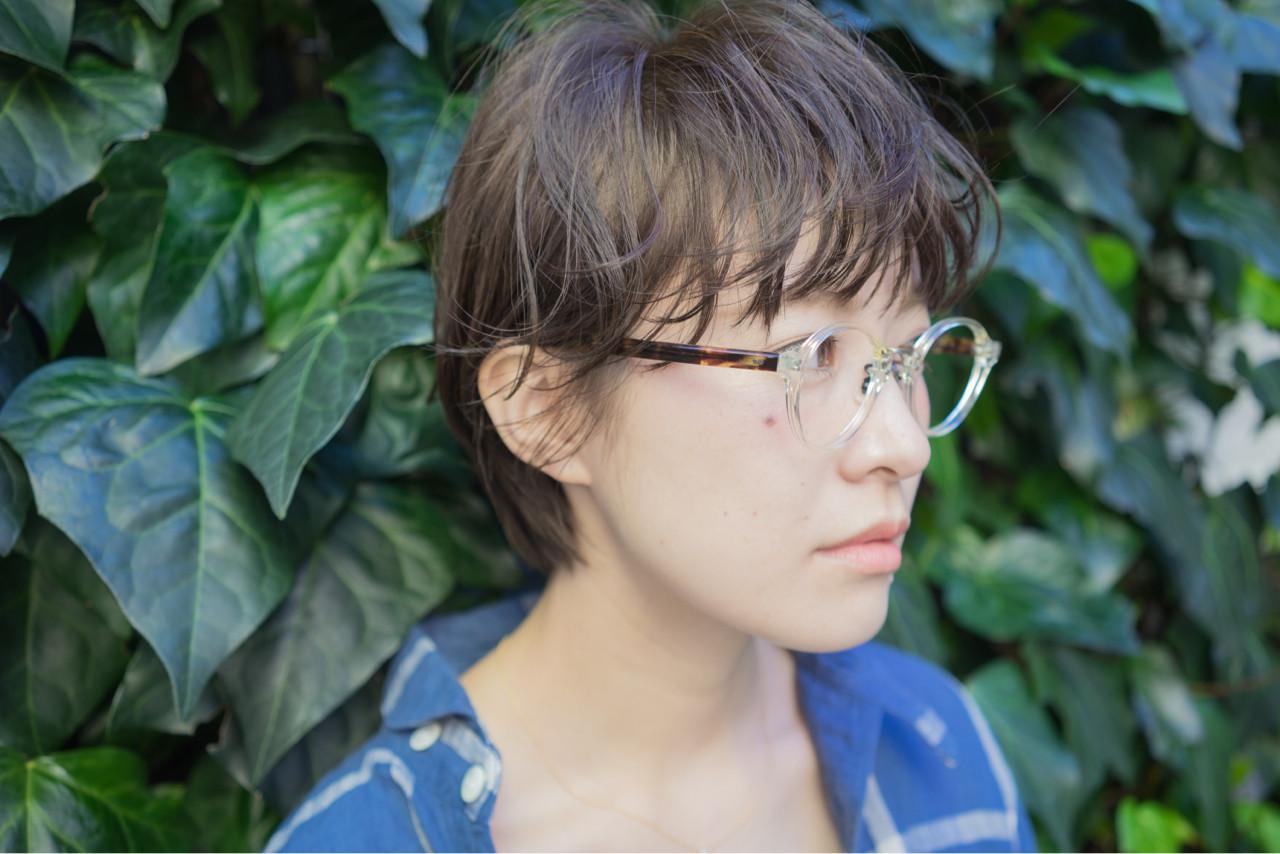 ミルクティー フリンジバング 前髪あり 外国人風 ヘアスタイルや髪型の写真・画像