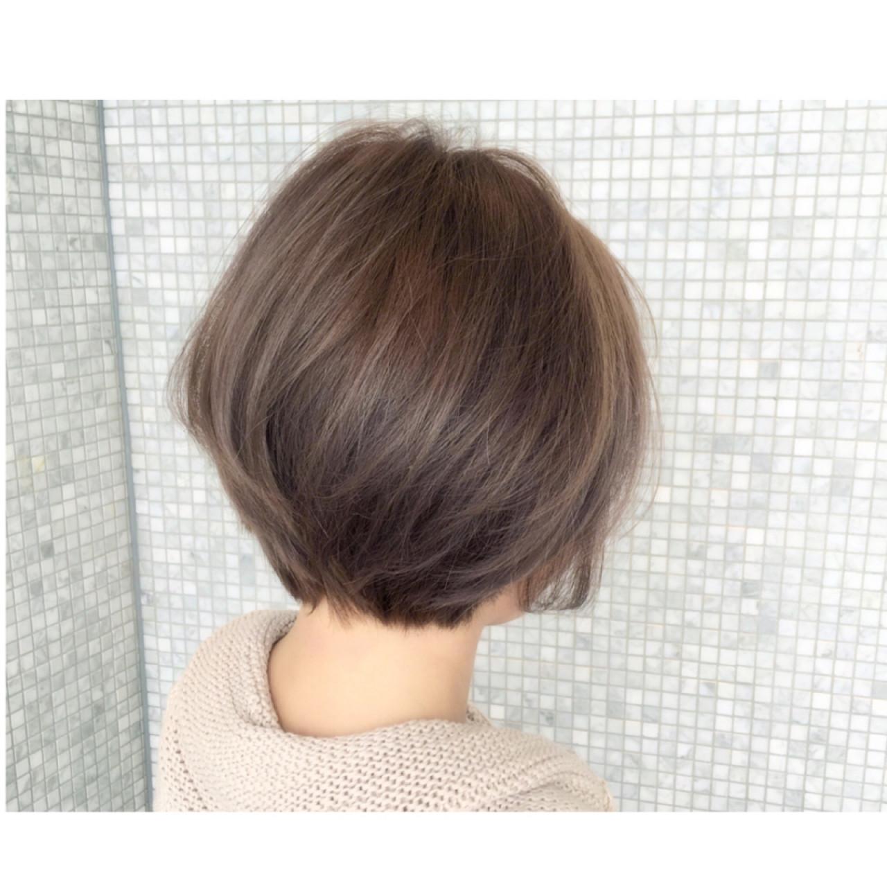 外国人風 ストリート アッシュ ショート ヘアスタイルや髪型の写真・画像