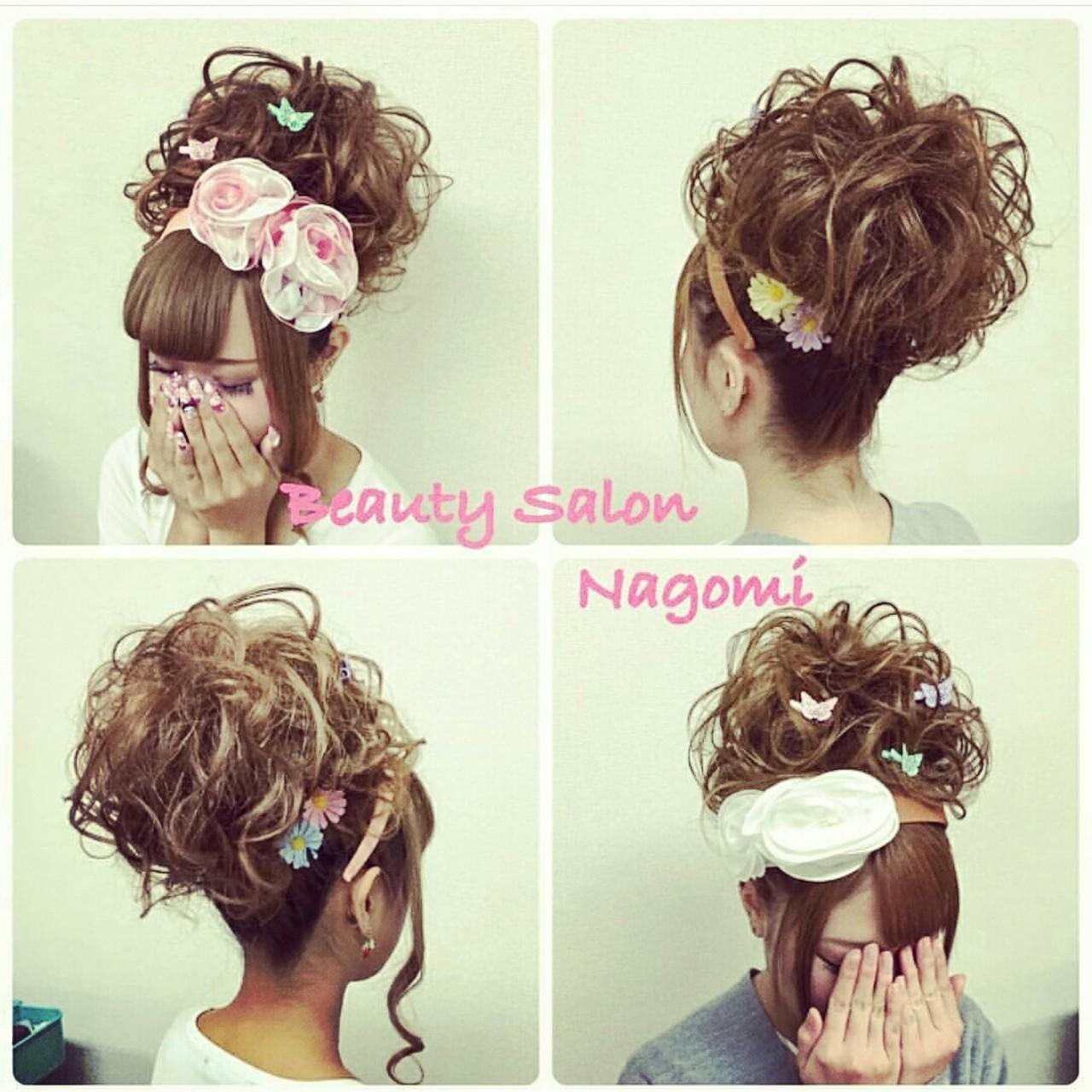 アップスタイル 結婚式 ロング 振袖|Beauty Salon nagomi