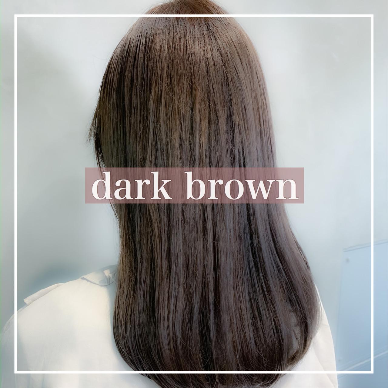 暗髪 ミディアム ナチュラル 圧倒的透明感 ヘアスタイルや髪型の写真・画像 | MISATO KAWANOBE / ROJITHA