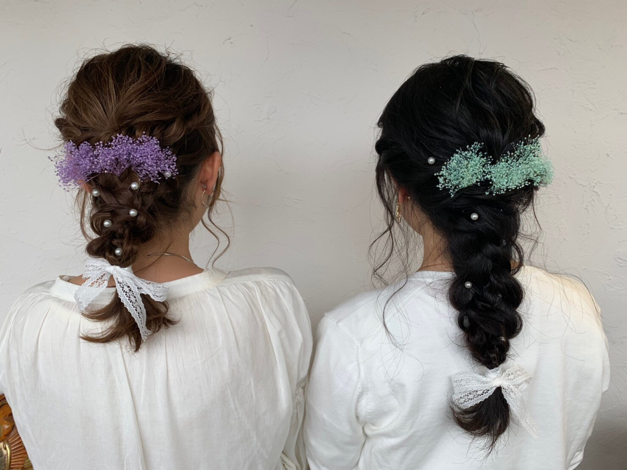 ガーリー 成人式 ヘアアレンジ 結婚式 ヘアスタイルや髪型の写真・画像