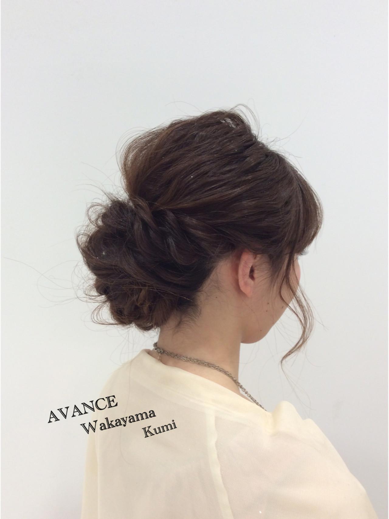 結婚式 ショート セミロング デート ヘアスタイルや髪型の写真・画像