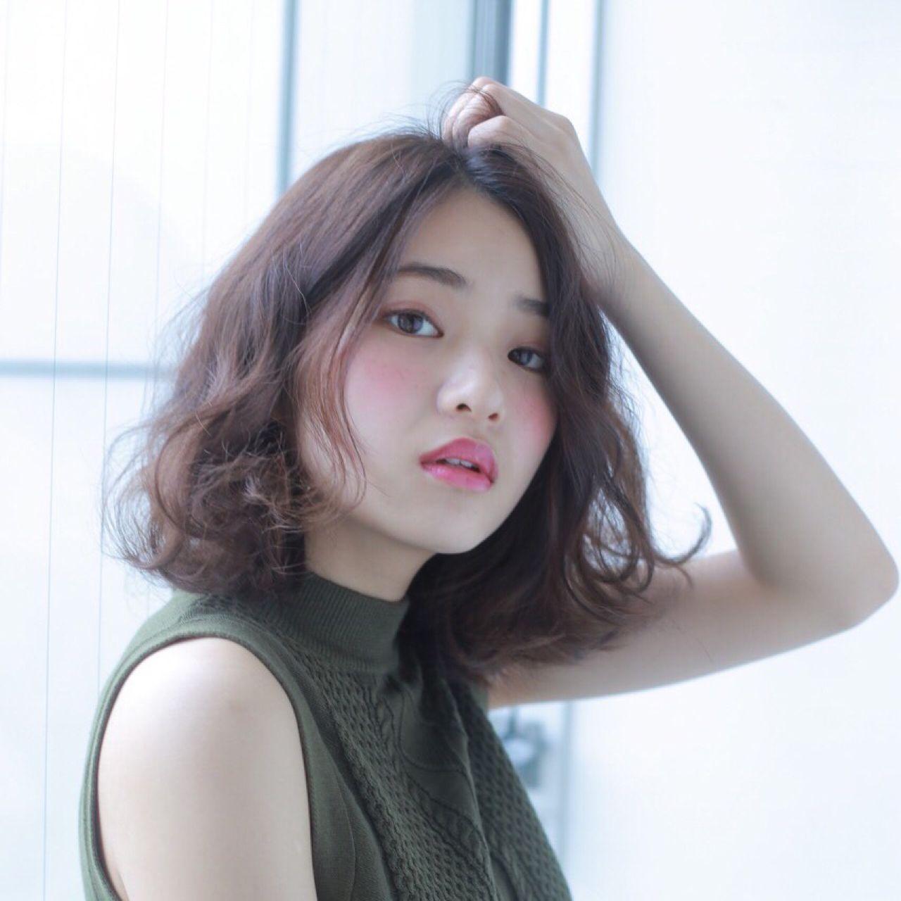 秋 ストリート 冬 大人かわいい ヘアスタイルや髪型の写真・画像 | ハセガワ ヒトシ / Spice Hair