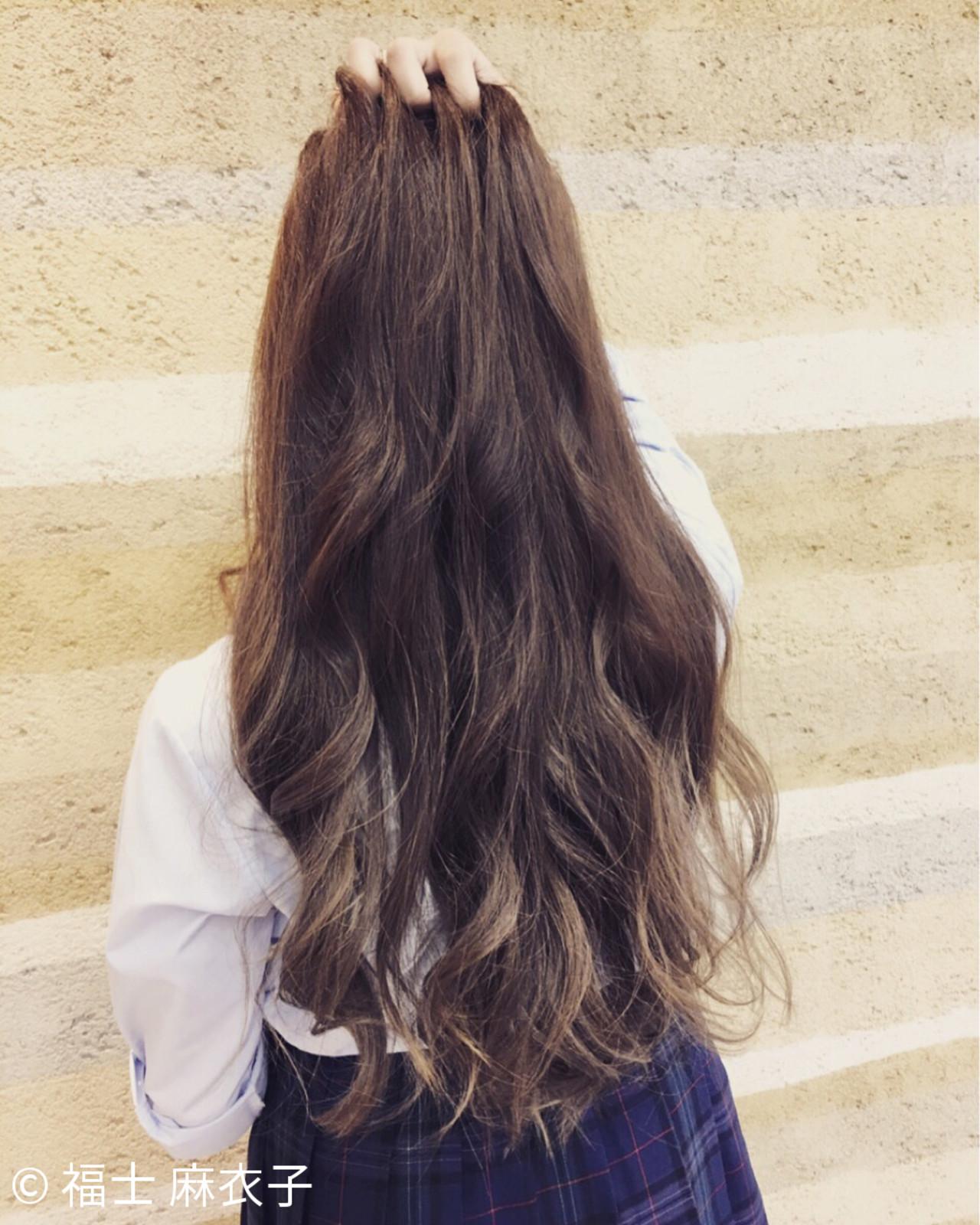 ガーリー 渋谷系 外国人風 ハイライト ヘアスタイルや髪型の写真・画像 | 福士 麻衣子 / crop es大船東口店