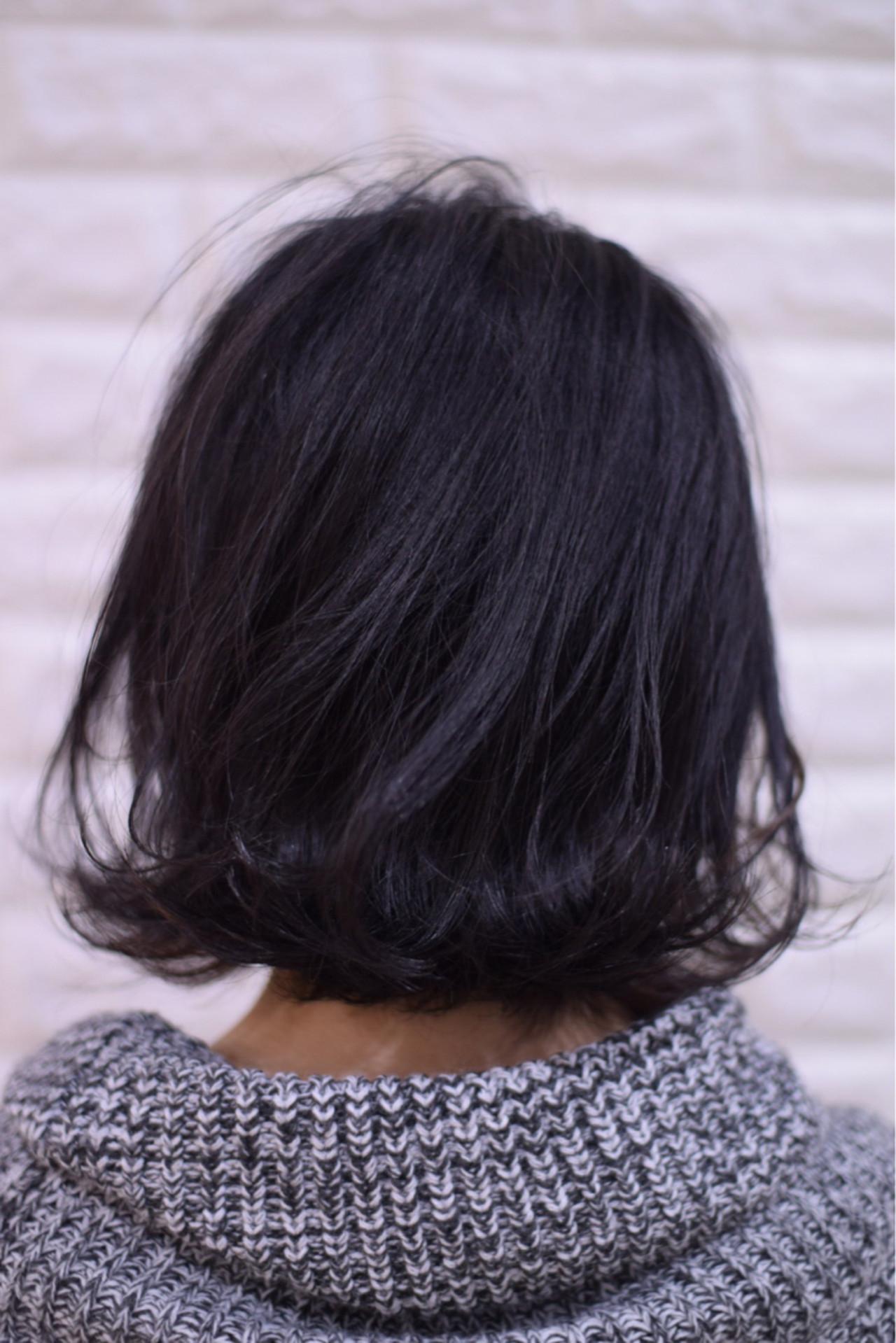 アンニュイほつれヘア ボブ 簡単ヘアアレンジ フェミニン ヘアスタイルや髪型の写真・画像