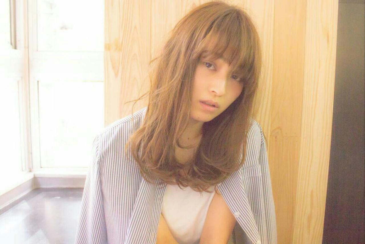 大人かわいい 外国人風 ナチュラル フェミニン ヘアスタイルや髪型の写真・画像