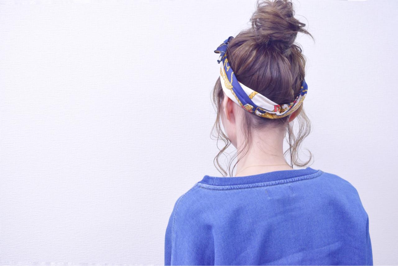 簡単ヘアアレンジ ボブ ナチュラル ヘアアレンジ ヘアスタイルや髪型の写真・画像