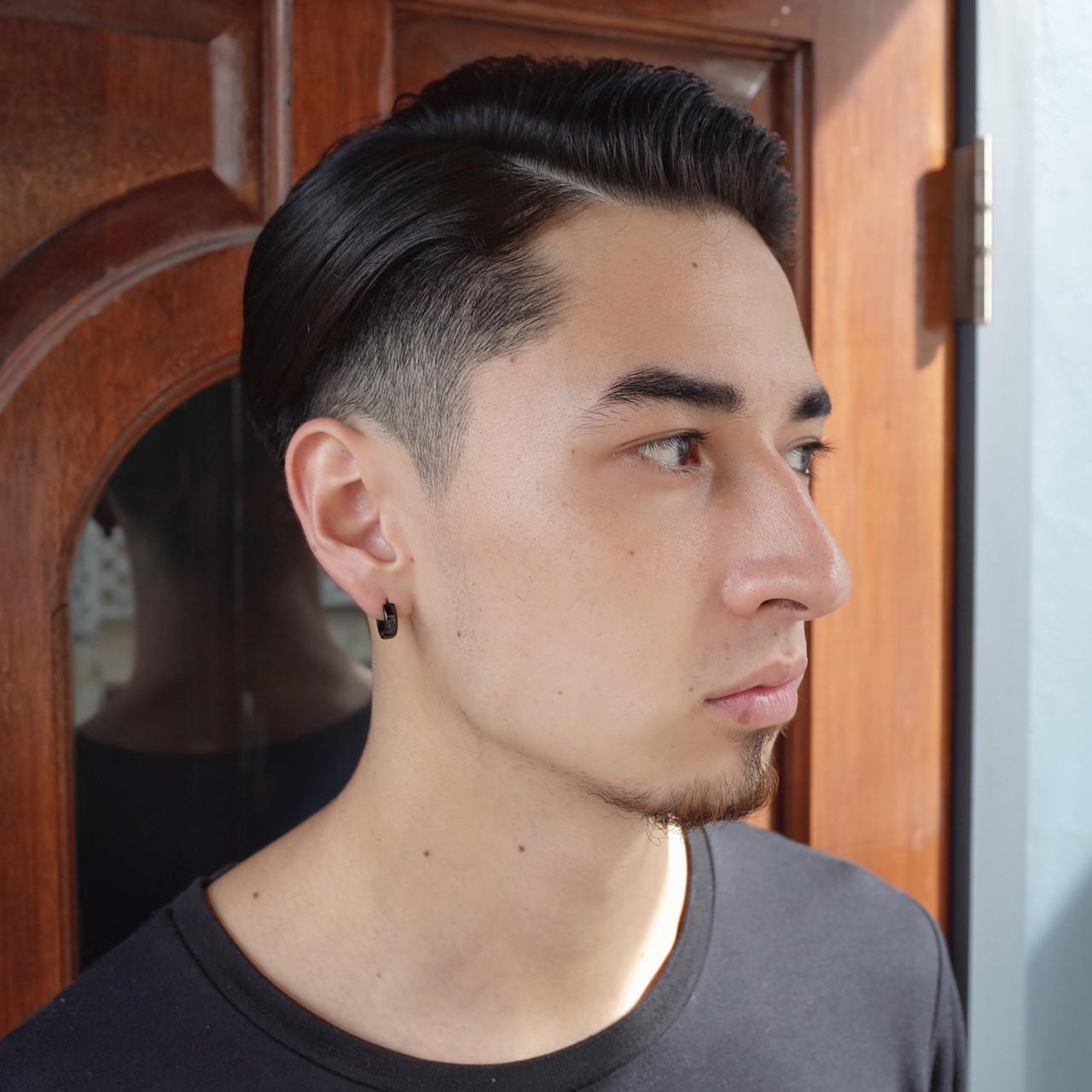 刈り上げ ツーブロック ショート メンズショート ヘアスタイルや髪型の写真・画像