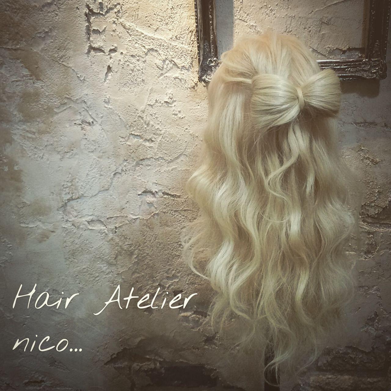 センターパート 春 パンク ロング ヘアスタイルや髪型の写真・画像
