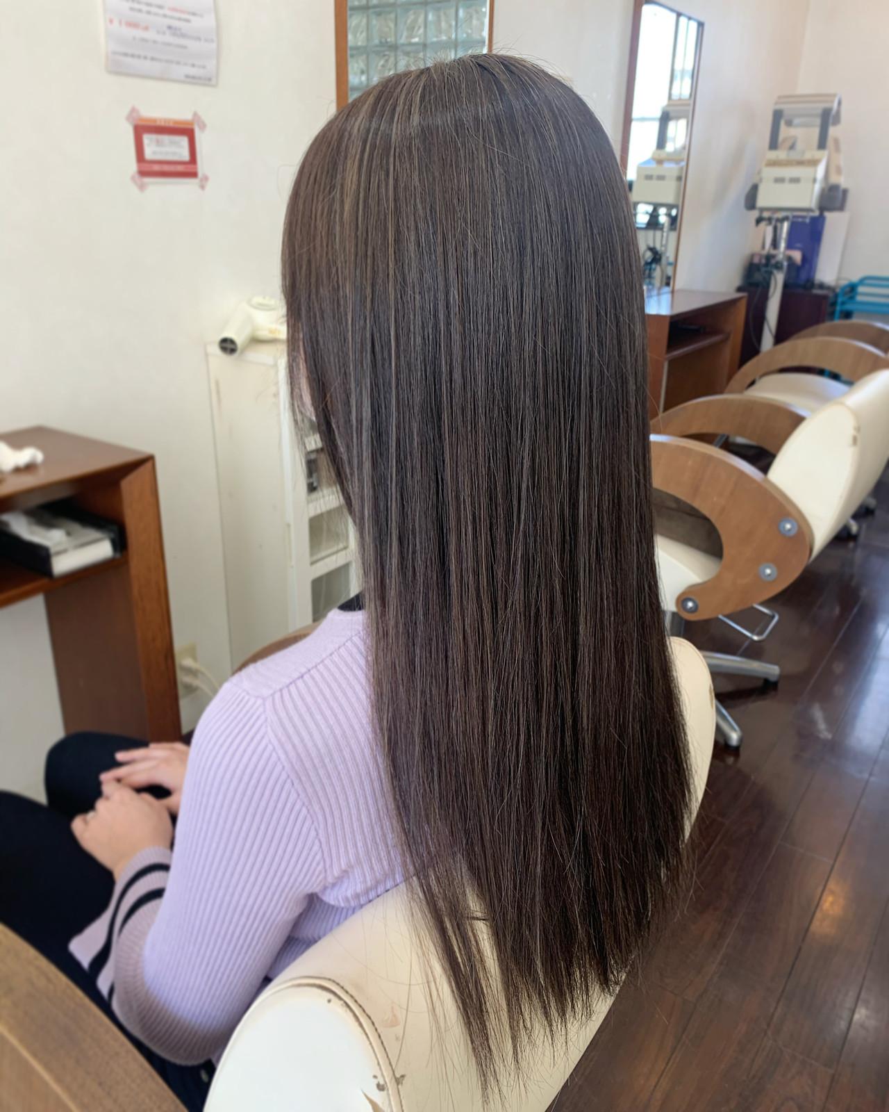 キャラデコミュゼリア ブリーチカラー ロング ナチュラル ヘアスタイルや髪型の写真・画像   Sakairi Yuna / hair design Select