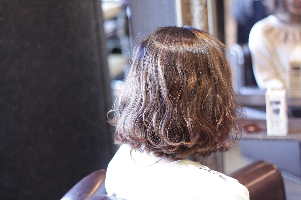 ボブ モテ髪 外国人風 ストリート ヘアスタイルや髪型の写真・画像