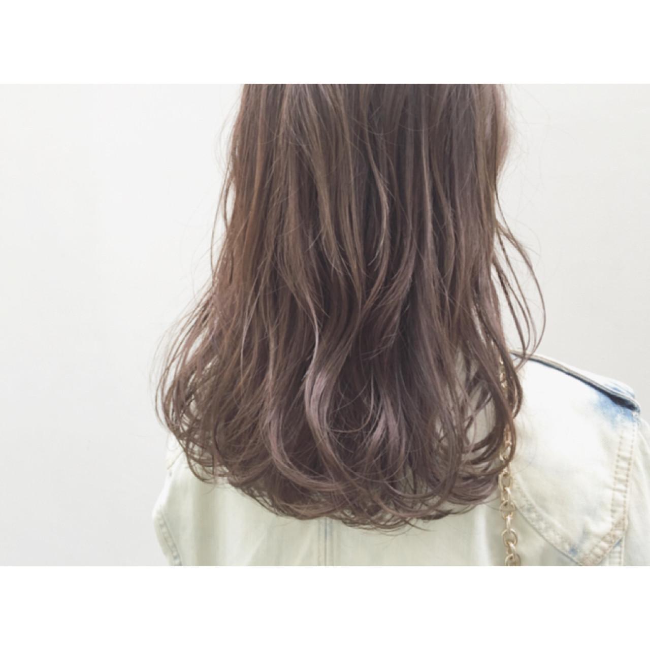 コンサバ イルミナカラー 暗髪 ブラウン ヘアスタイルや髪型の写真・画像 | 安達 優生 / U-REALM(ユーレルム)