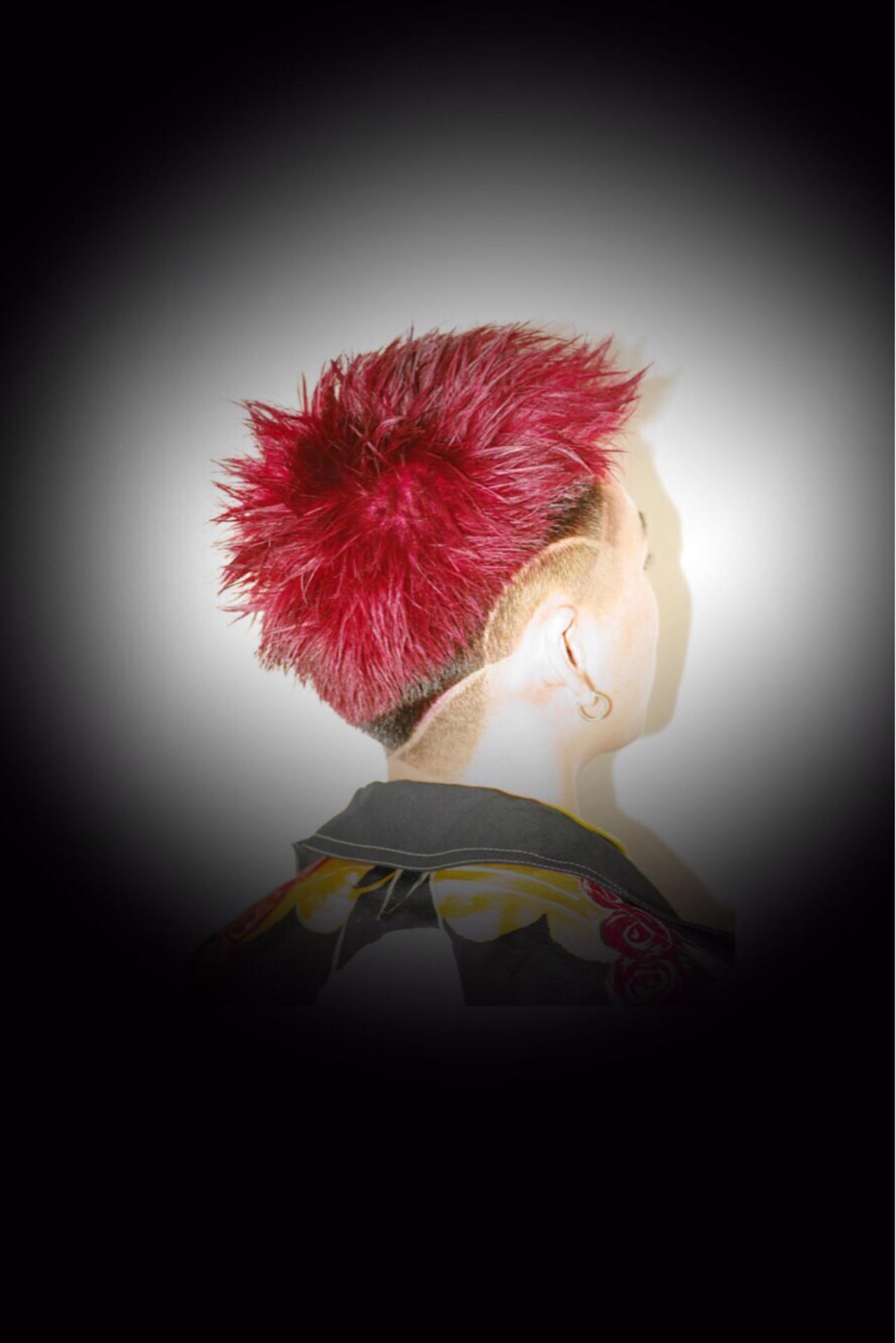 簡単ヘアアレンジ ベリーショート ストリート ショート ヘアスタイルや髪型の写真・画像 | カラーリスト・YuuKi Sekimoto / wherever