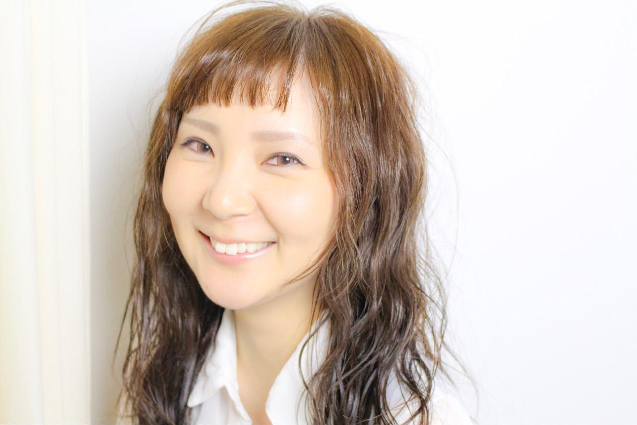 大人かわいい かわいい セミロング 色気 ヘアスタイルや髪型の写真・画像 | 和田 成泰 / LAXA HAIR WORKS