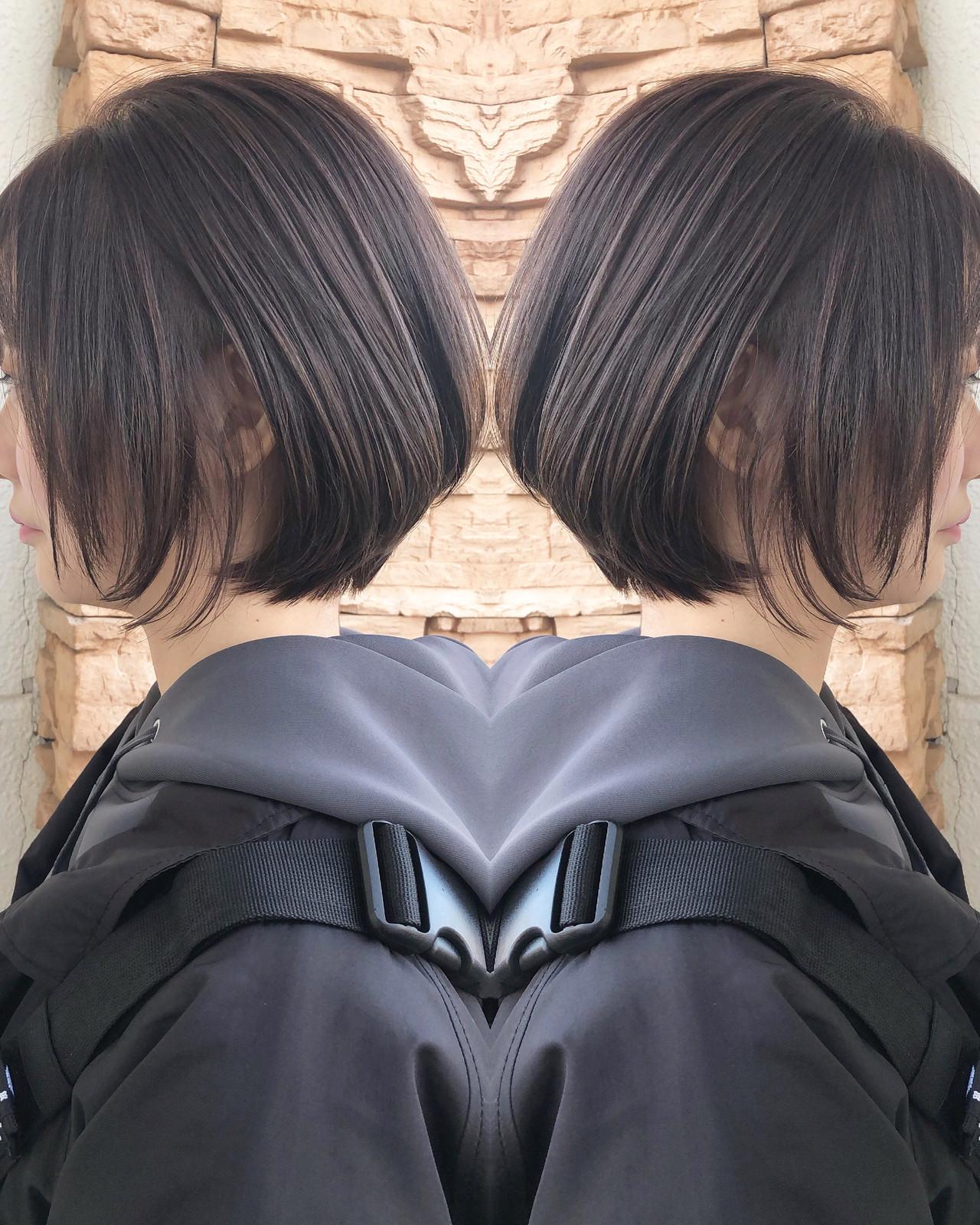 ショートヘア ボブ ベリーショート ショートボブ ヘアスタイルや髪型の写真・画像   佐藤タカヒロ / Gritter
